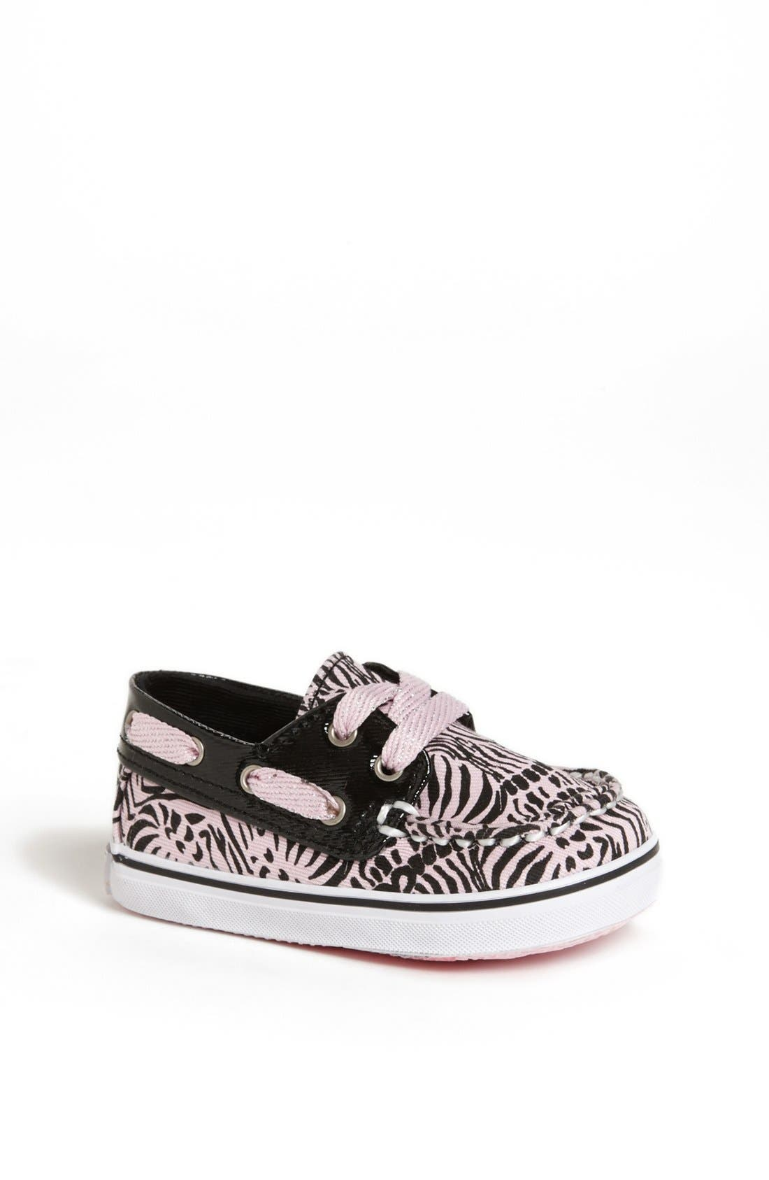 Main Image - Sperry Top-Sider®  Kids 'Bahama' Crib Shoe (Baby)