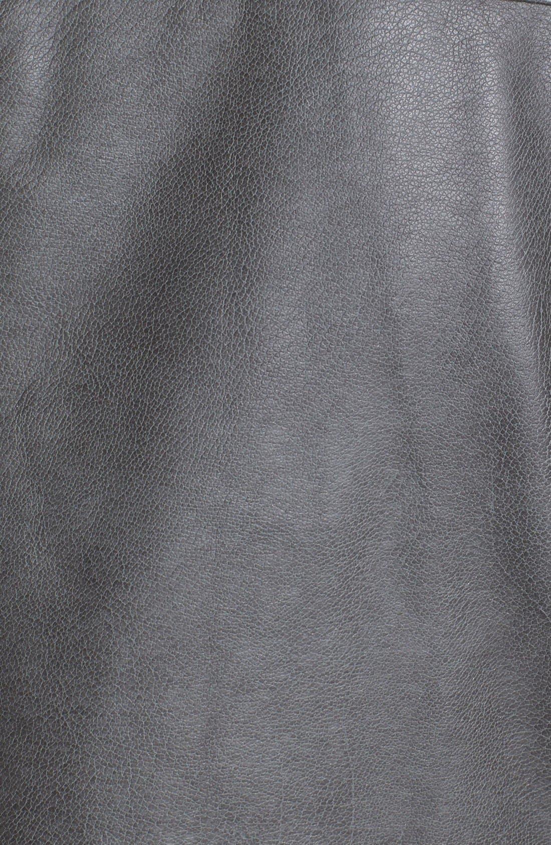 Alternate Image 4  - Jessica Simpson 'Trey' Faux Leather Moto Jacket