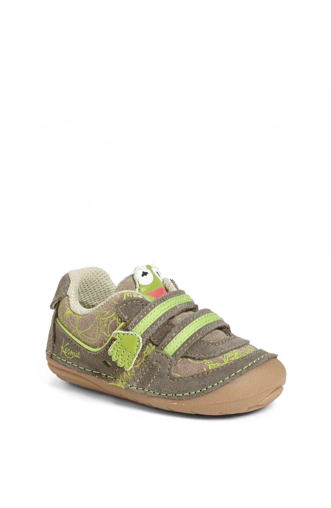 Alternate Image 1 Selected - Stride Rite 'Kermit' Sneaker (Baby & Walker)