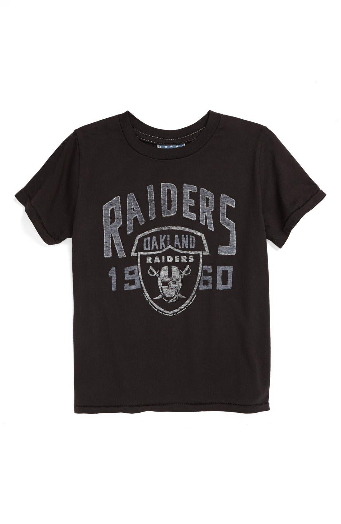 Main Image - Junk Food 'Oakland Raiders' T-Shirt (Toddler Boys)