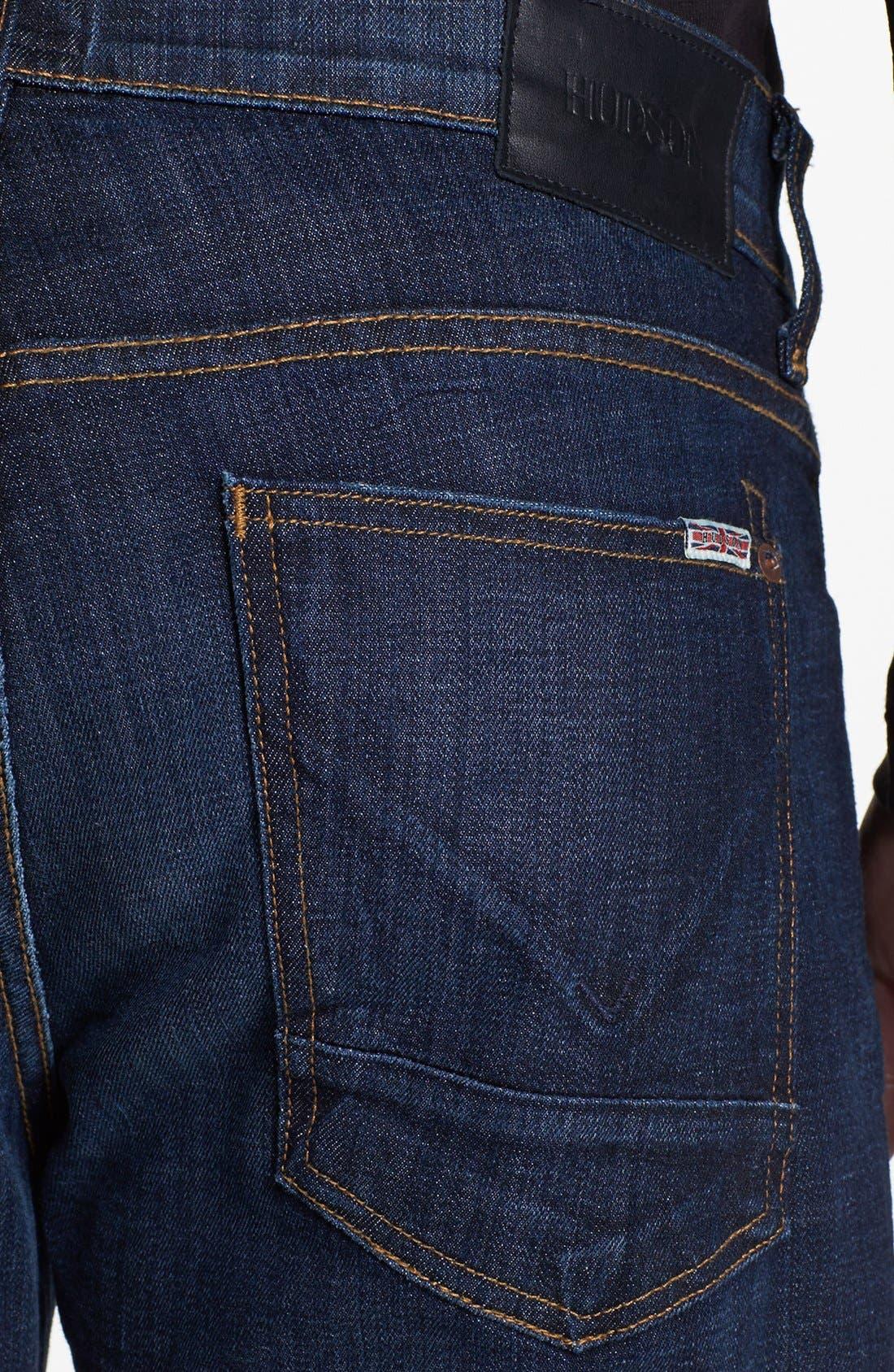 Alternate Image 4  - Hudson Jeans Straight Leg Jeans (Latour) (Tall)
