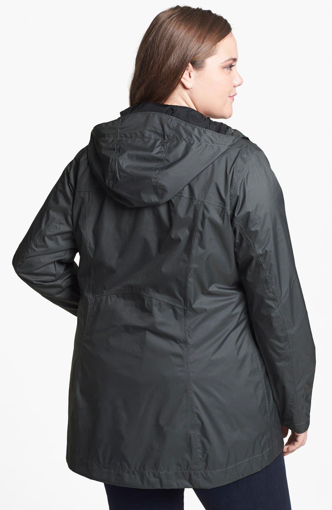 Alternate Image 2  - Columbia 'Splash a Little' Rain Jacket (Plus Size)