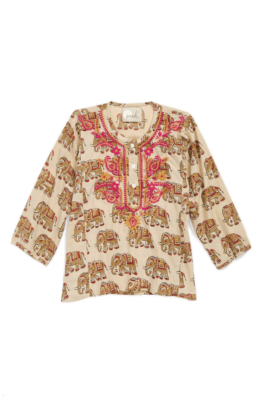 Main Image - Peek Khurti Top (Toddle Girls, Little Girls & Big Girls)