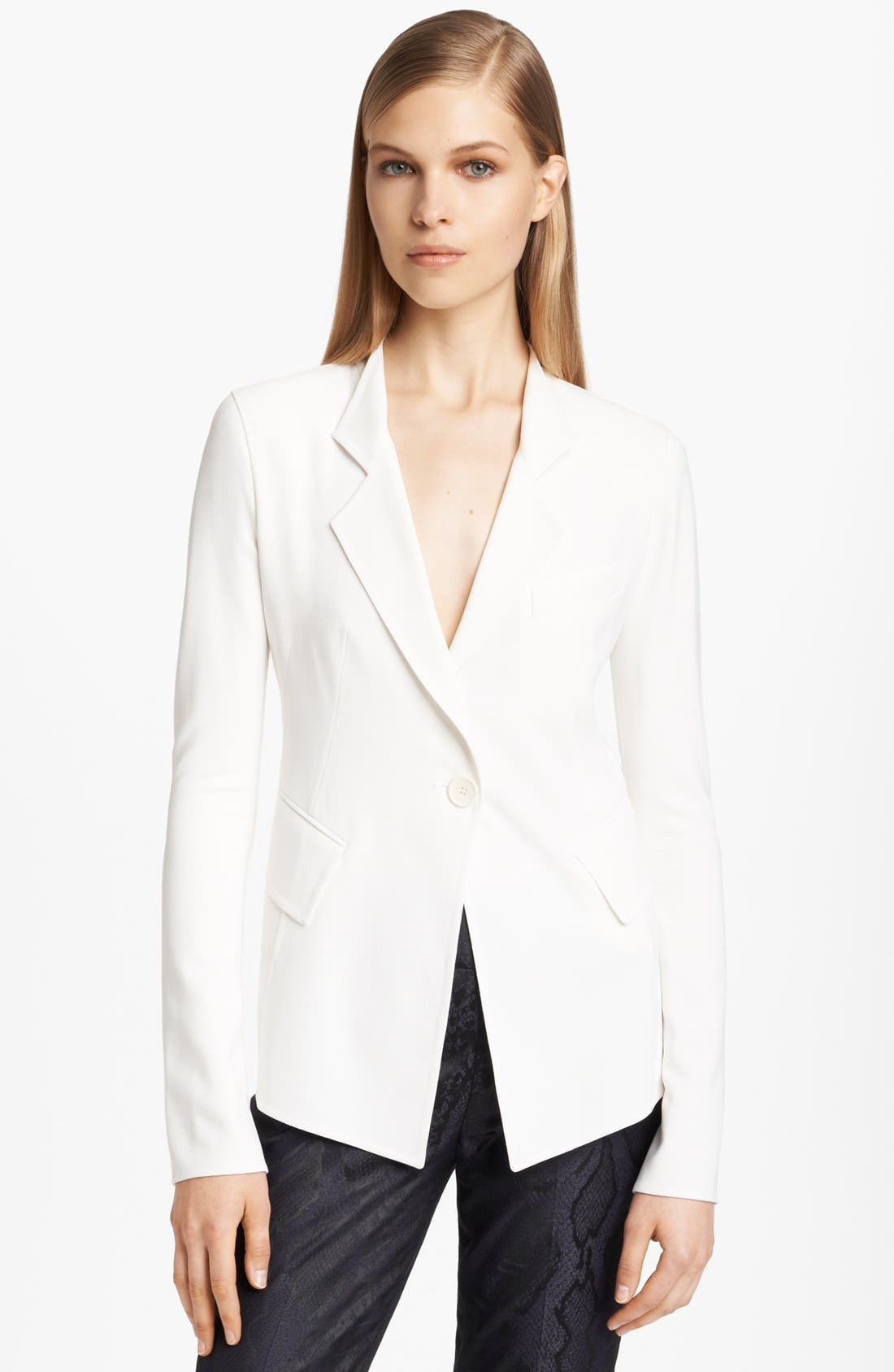 Main Image - Donna Karan Collection Fitted Single Button Jacket