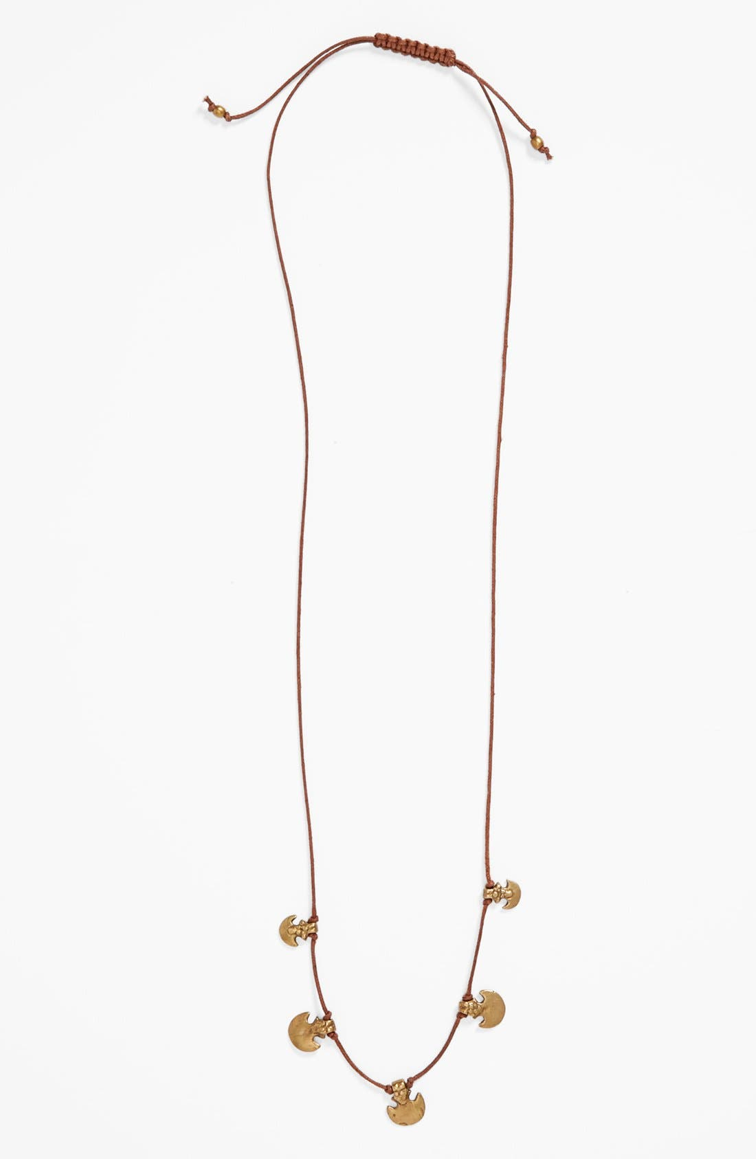 Main Image - Me to We Artisans Anchor Charm Necklace (Juniors)