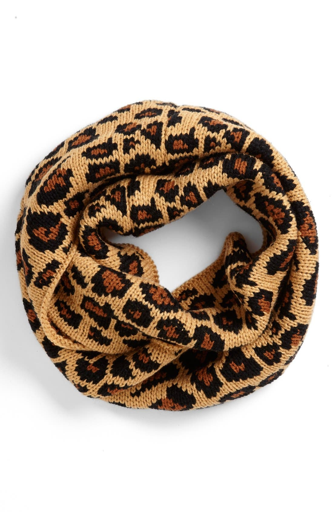 Alternate Image 1 Selected - Betsey Johnson 'Pretty Kitty' Infinity Scarf (Special Purchase)