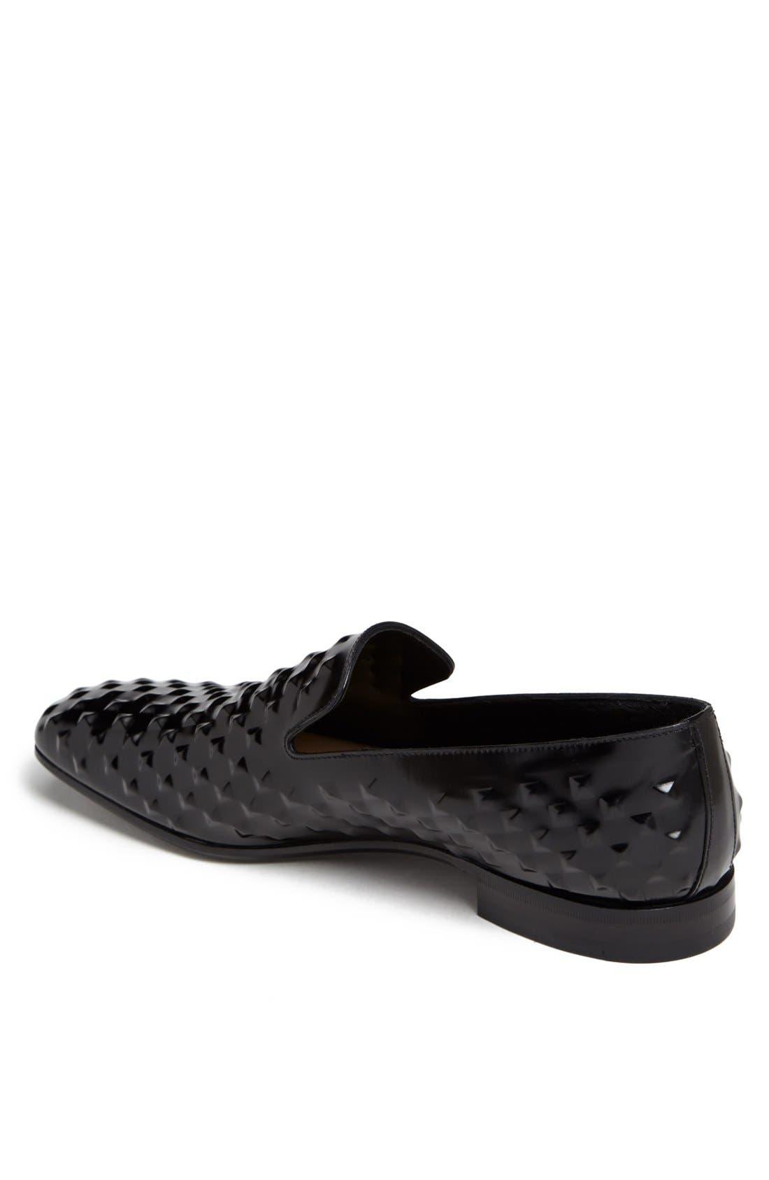Alternate Image 2  - Prada Studded Loafer