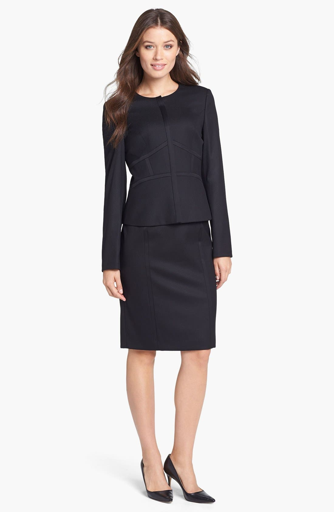Alternate Image 4  - BOSS HUGO BOSS 'Daliva' Sheath Dress