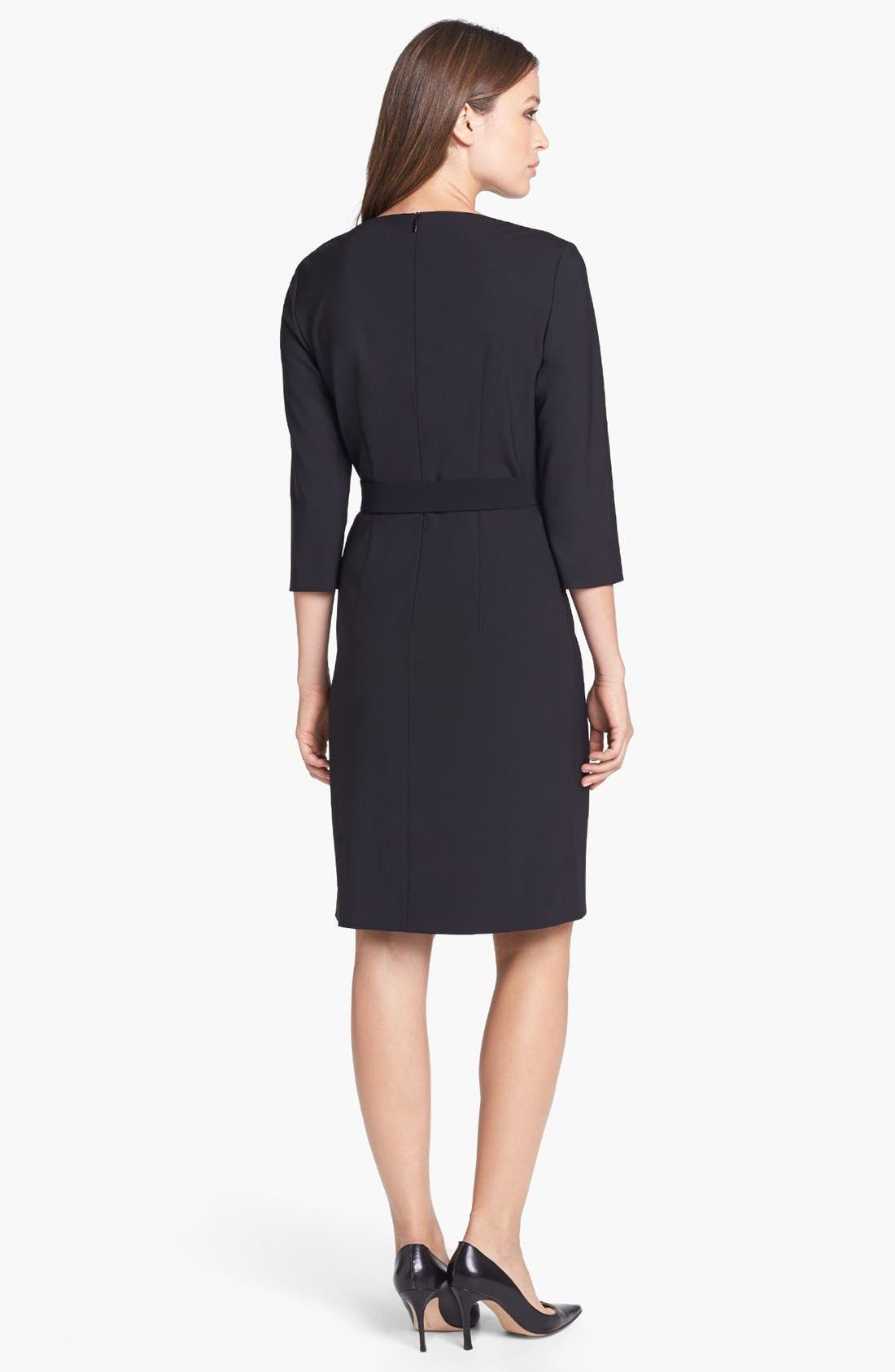 Alternate Image 2  - BOSS HUGO BOSS 'Dinamera1' Sheath Dress
