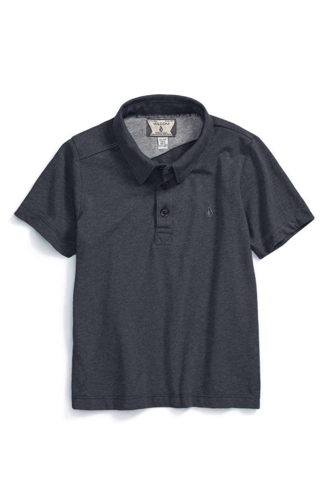 Alternate Image 1 Selected - Volcom 'Blackout' Polo (Toddler Boys)