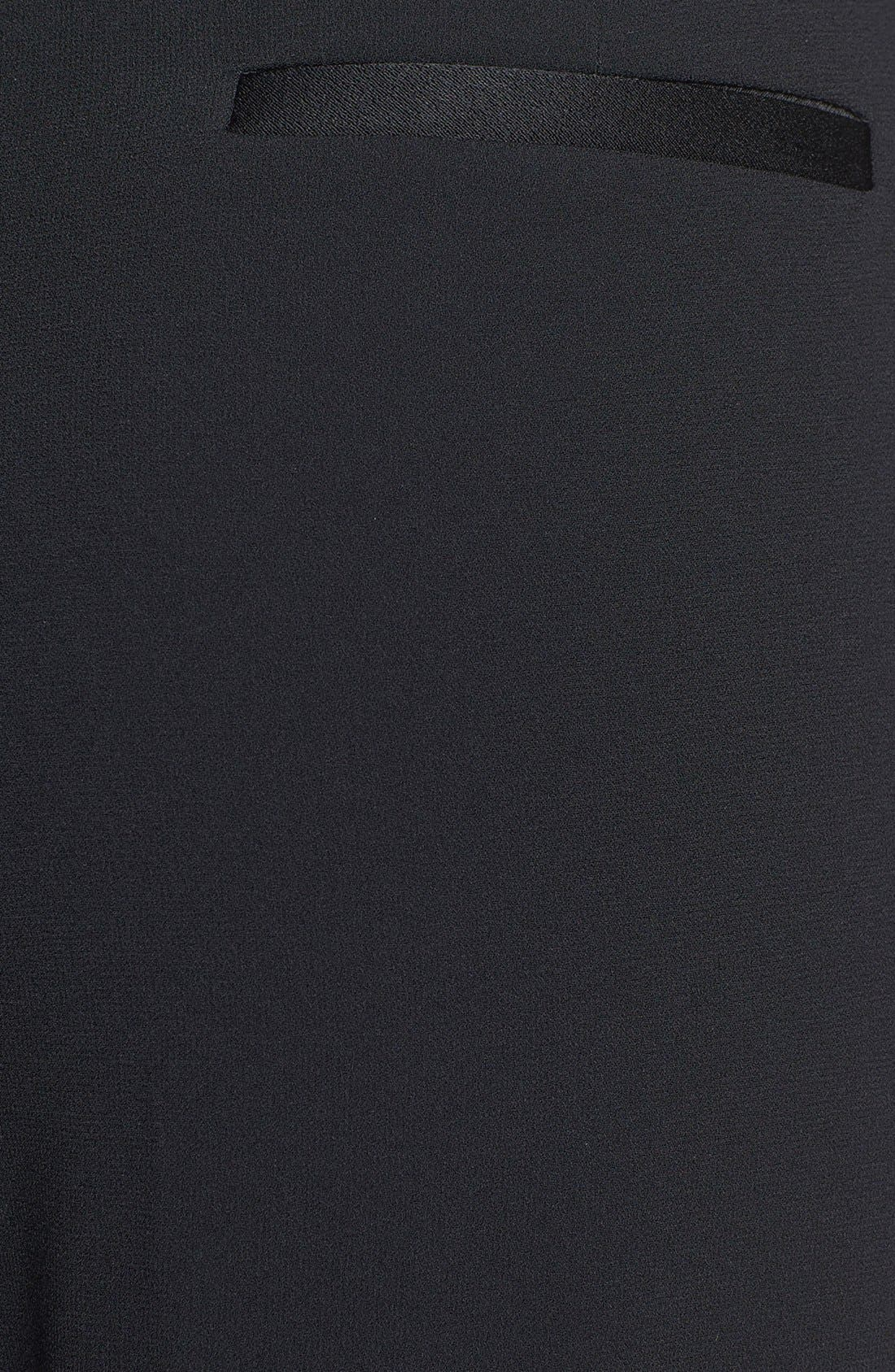 Alternate Image 3  - Trouvé Tuxedo Stripe Crop Pants