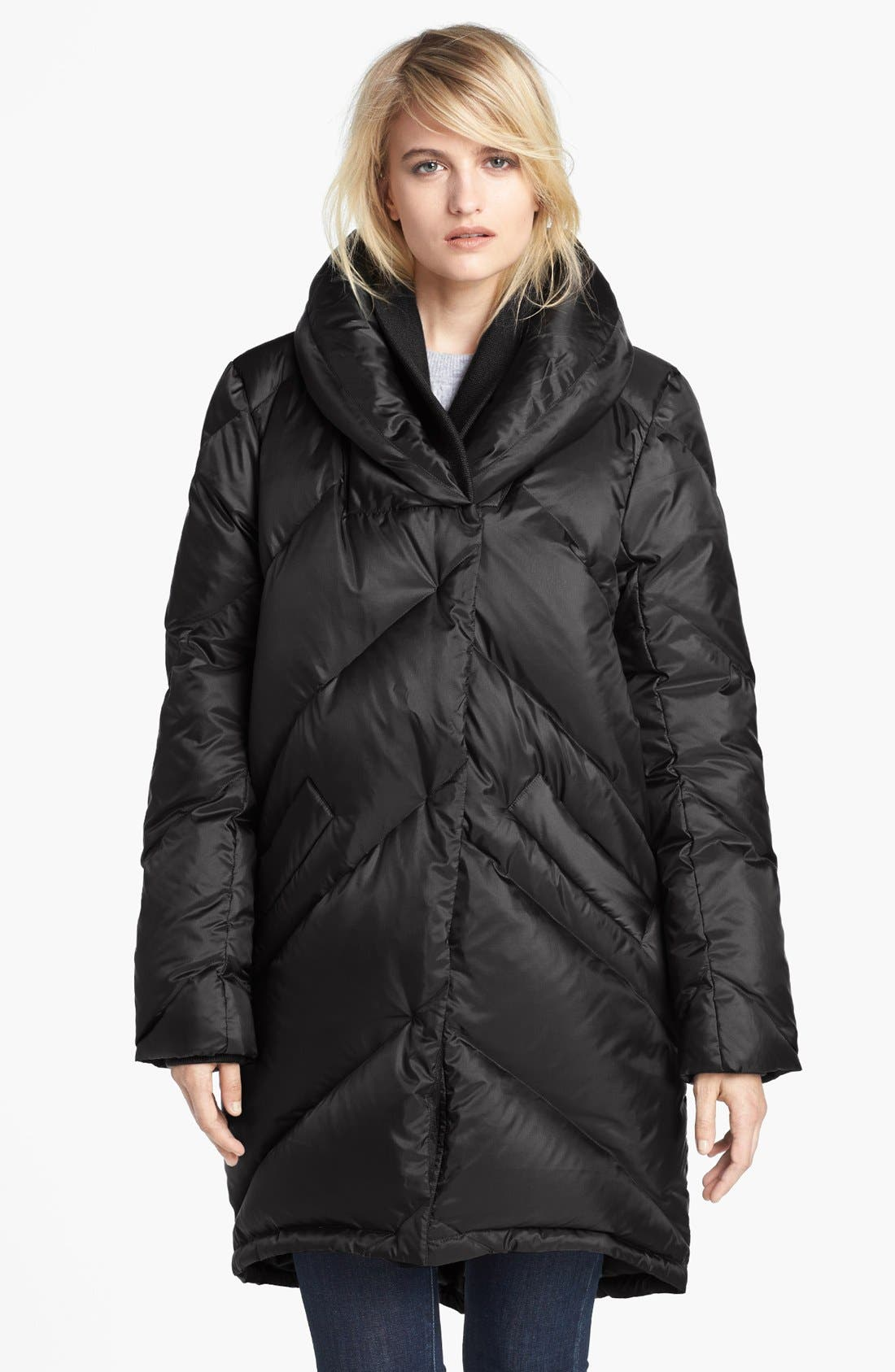 Alternate Image 1 Selected - Theory 'Lisina Periodical' Puffer Coat