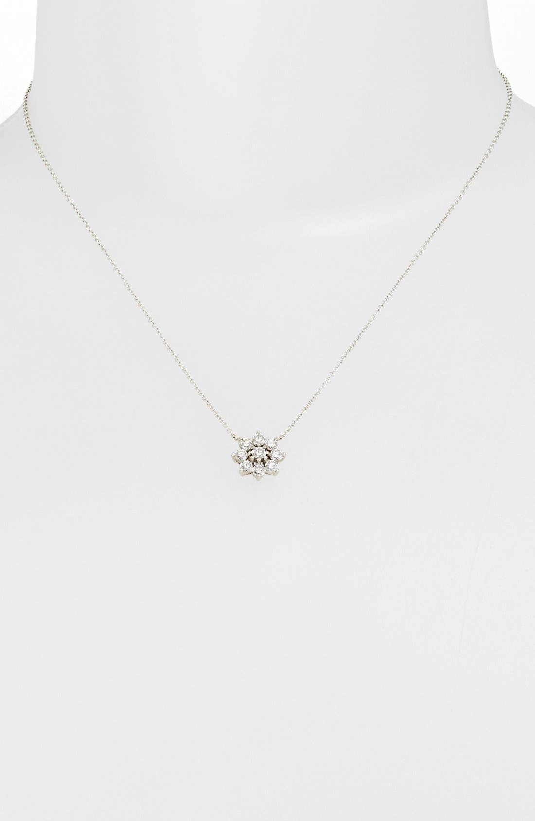 Alternate Image 1 Selected - Kwiat 'Blooms' Diamond Pendant Necklace