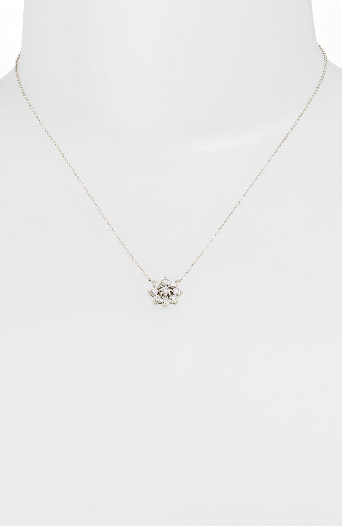 Main Image - Kwiat 'Blooms' Diamond Pendant Necklace