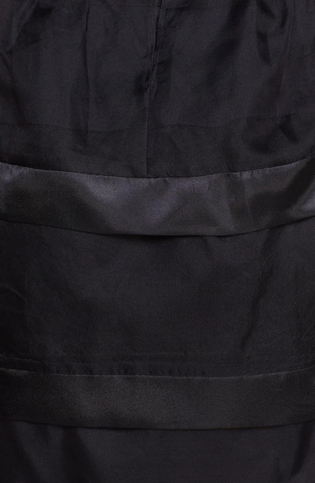 Alternate Image 3  - Taylor Dresses Tiered Fit & Flare Dress