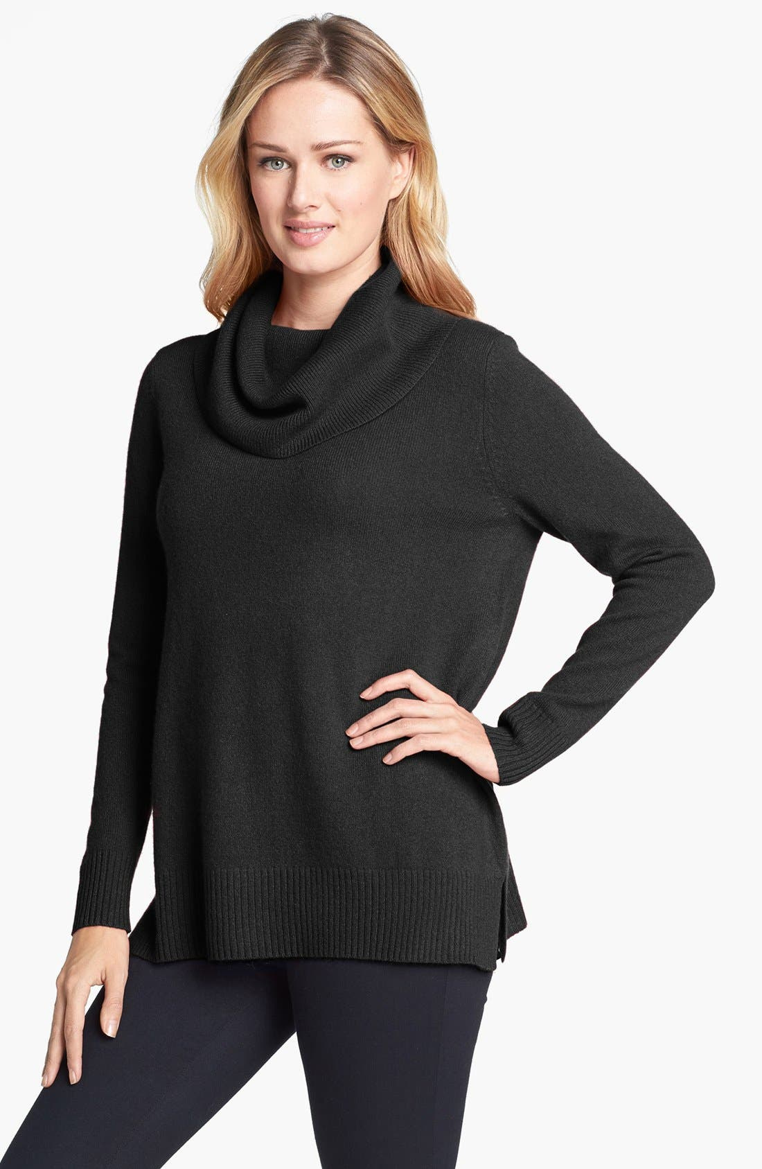 Alternate Image 1 Selected - Amber Sun Cowl Neck Cashmere Sweater
