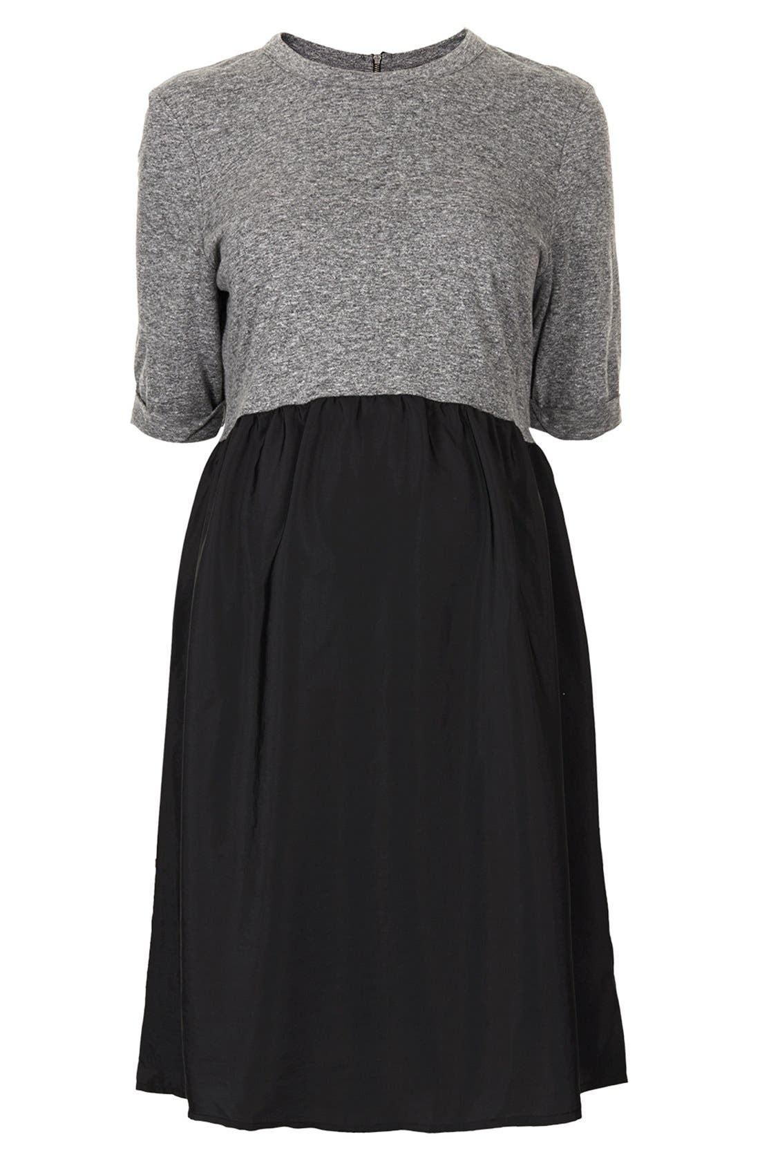 Alternate Image 1 Selected - Topshop Jersey Maternity Dress