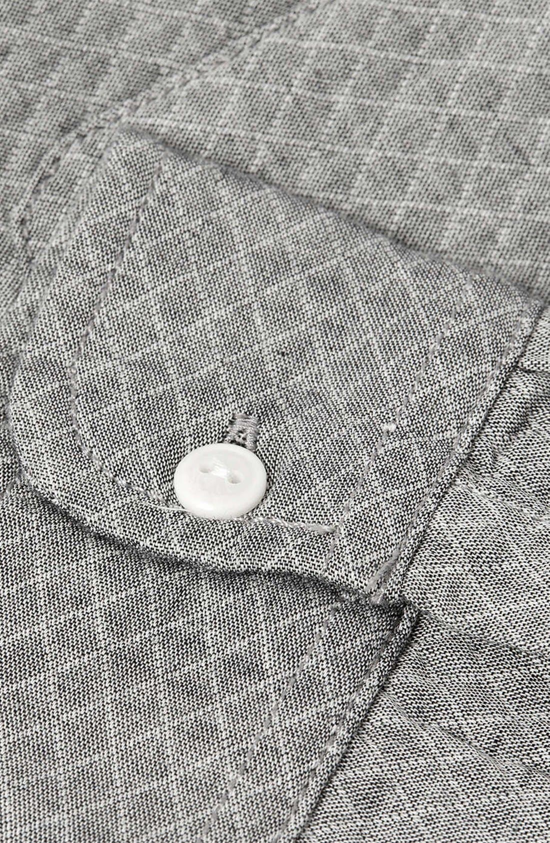 Alternate Image 3  - Topman Quilted Shirt