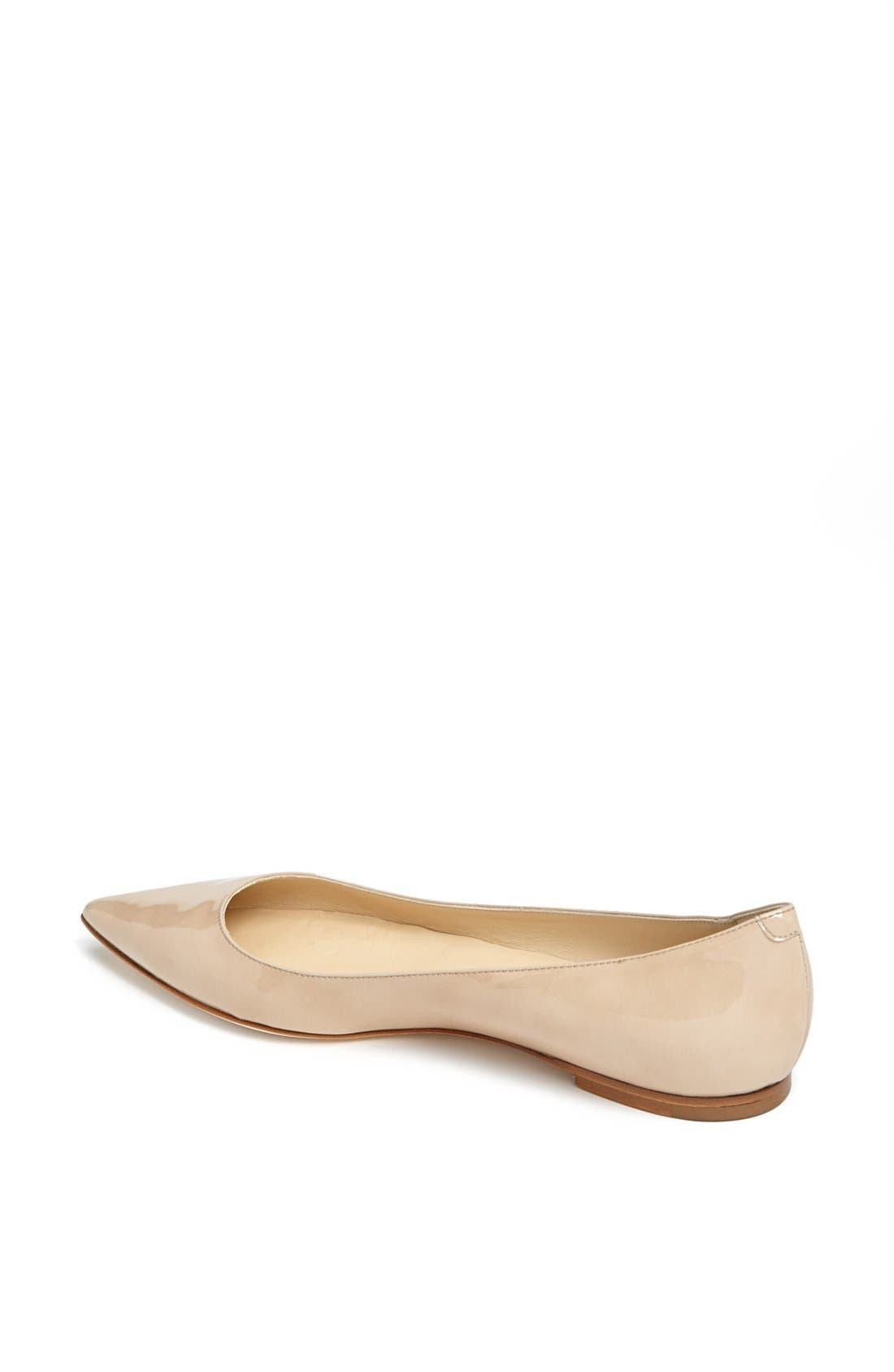 Alternate Image 2  - Jimmy Choo 'Alina' Pointy Toe Flat (Women)