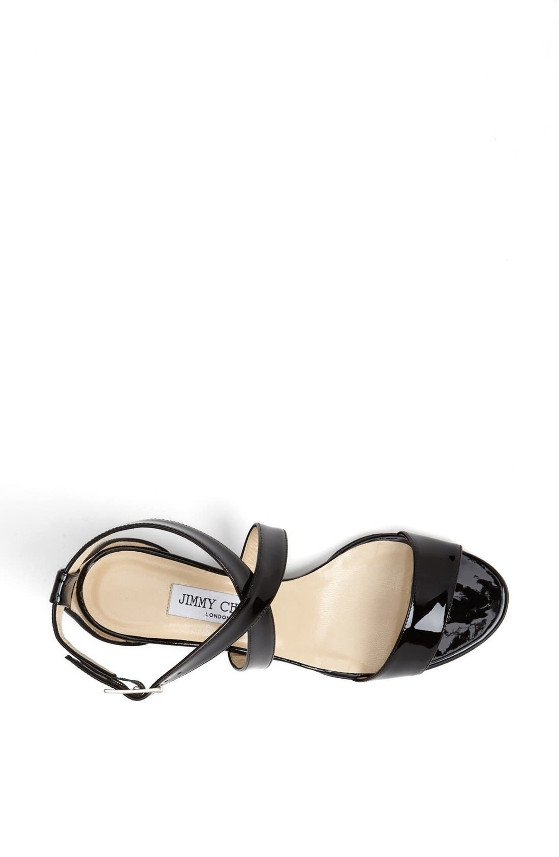 Alternate Image 3  - Jimmy Choo 'Chiara' Strap Wedge Sandal (Women)
