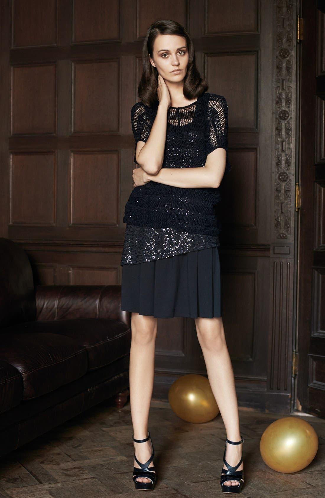 Alternate Image 5  - Eileen Fisher Pleated Skirt (Regular & Petite)