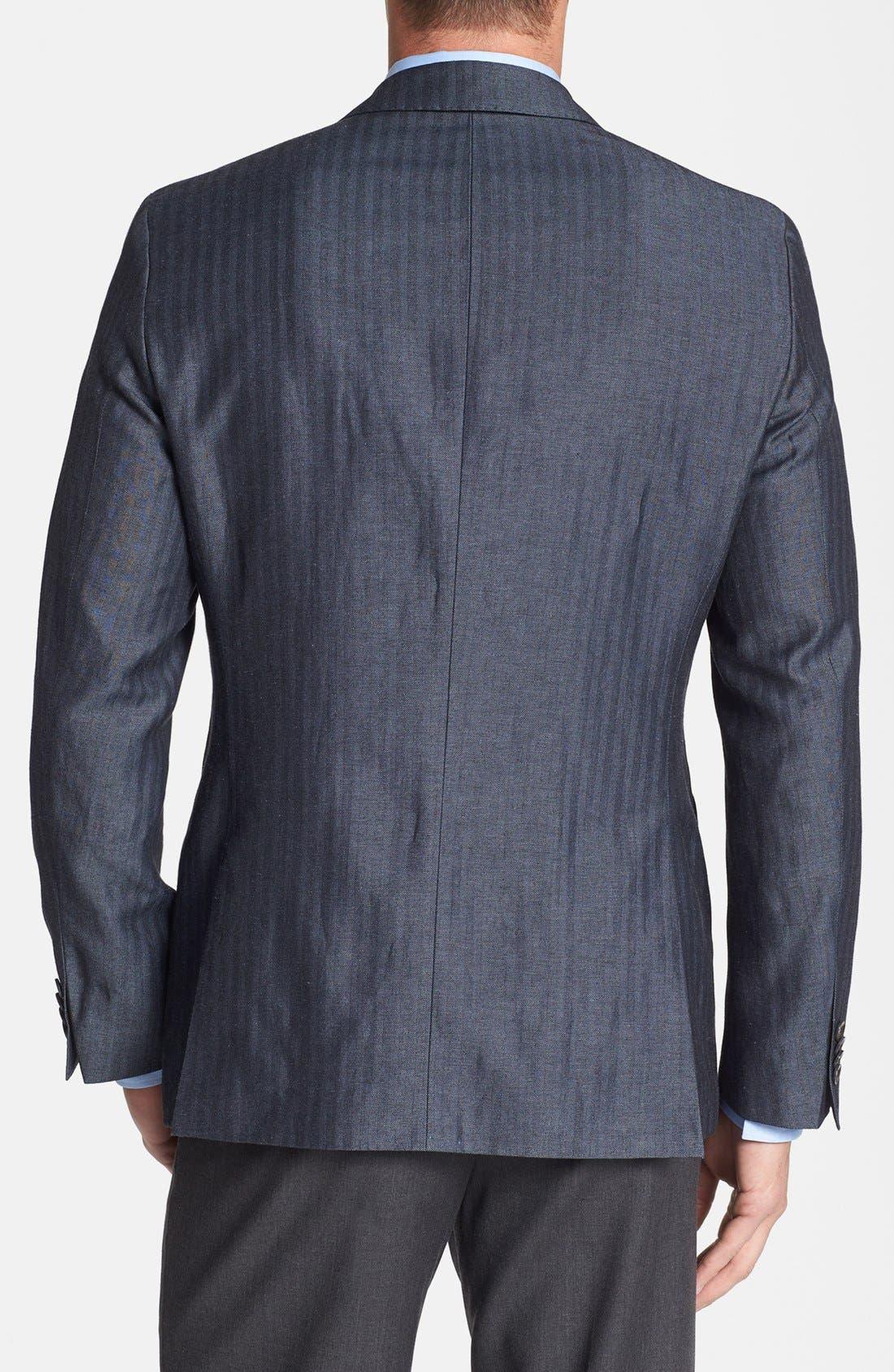 Alternate Image 2  - BOSS HUGO BOSS 'Johnston' Trim Fit Herringbone Sportcoat