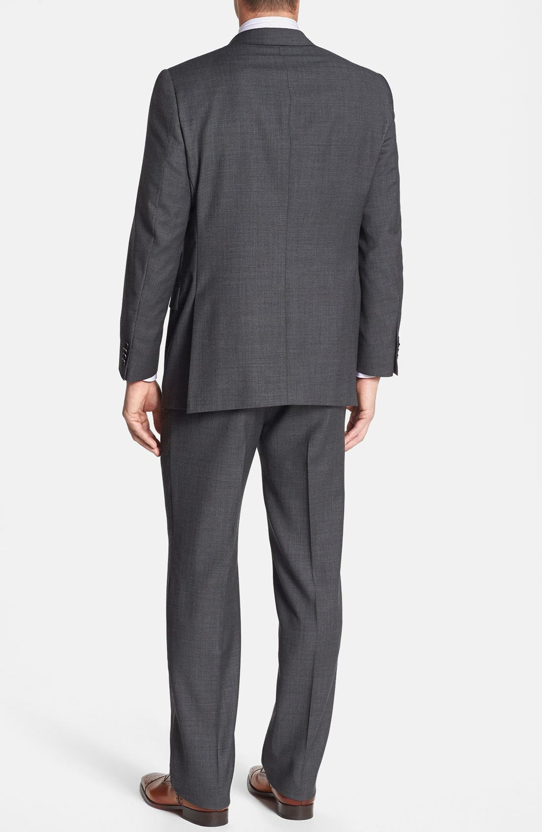 Alternate Image 3  - Hart Schaffner Marx 'New York' Classic Fit Wool Suit