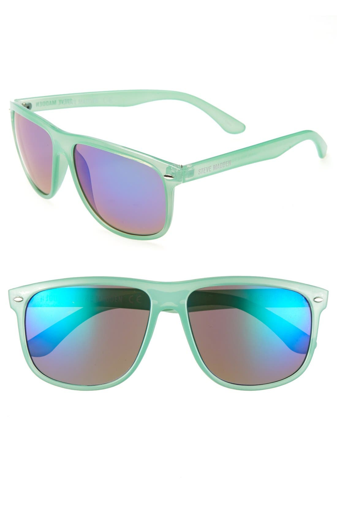 Alternate Image 1 Selected - Steve Madden Retro Sunglasses