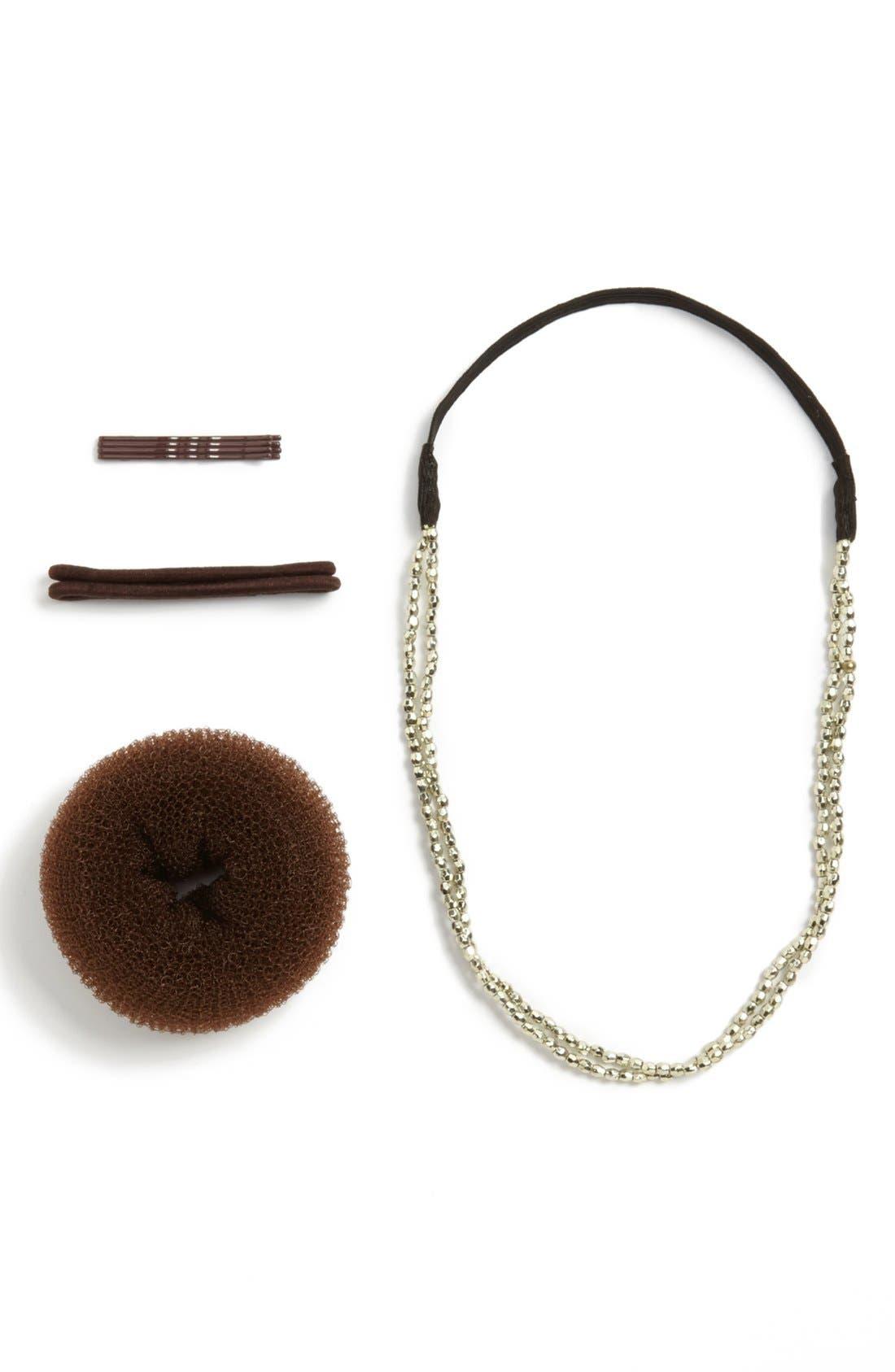 Alternate Image 1 Selected - Capelli of New York Headband & Bun Shaper Kit (Juniors) (Online Only)