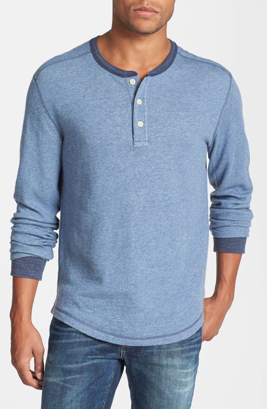 Main Image - Lucky Brand Long Sleeve Henley