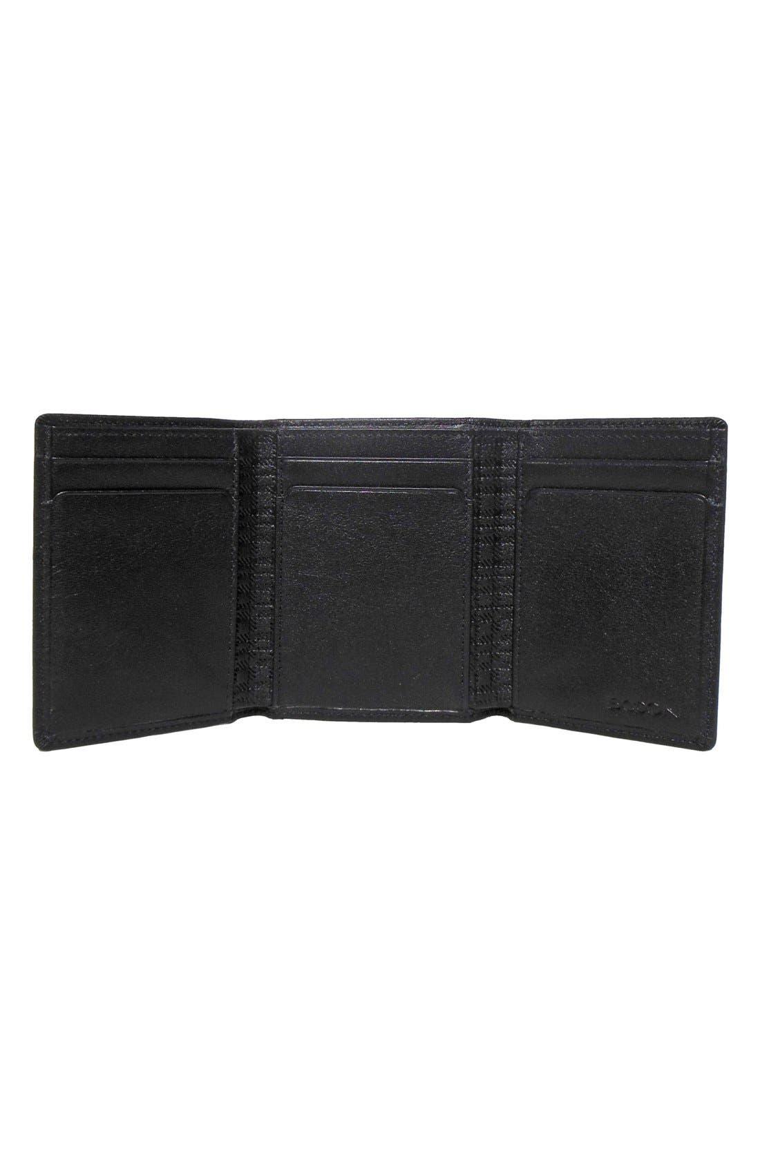Alternate Image 2  - Boconi 'Grant' RFID Blocker Leather Trifold Wallet