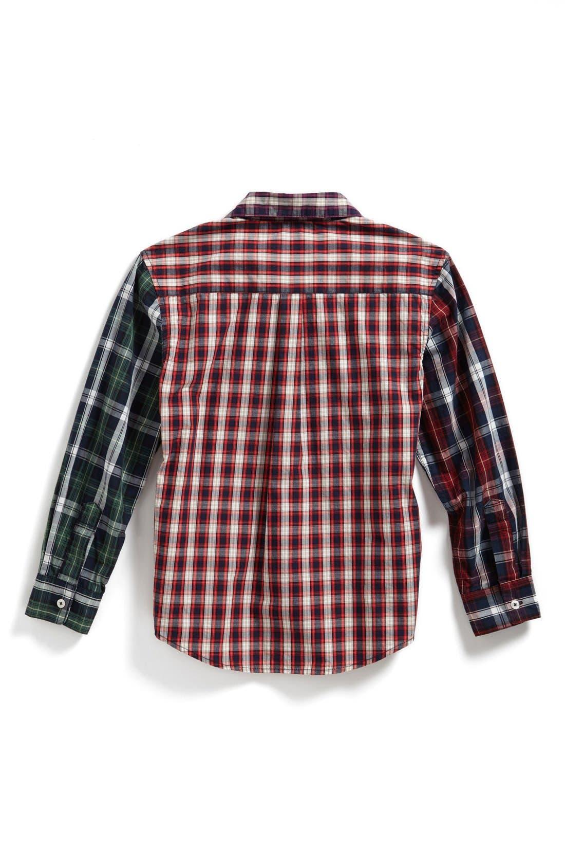 Alternate Image 2  - Peek 'Piedmont' Woven Shirt (Toddler Boys, Little Boys & Big Boys)