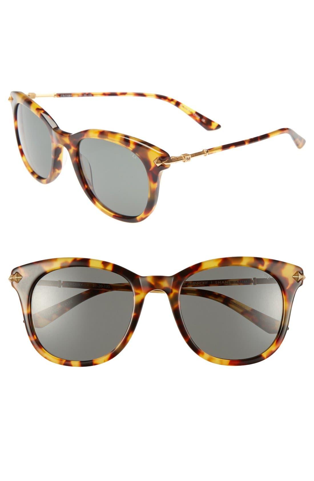Alternate Image 1 Selected - Rebecca Minkoff 'Crosby' 51mm Sunglasses