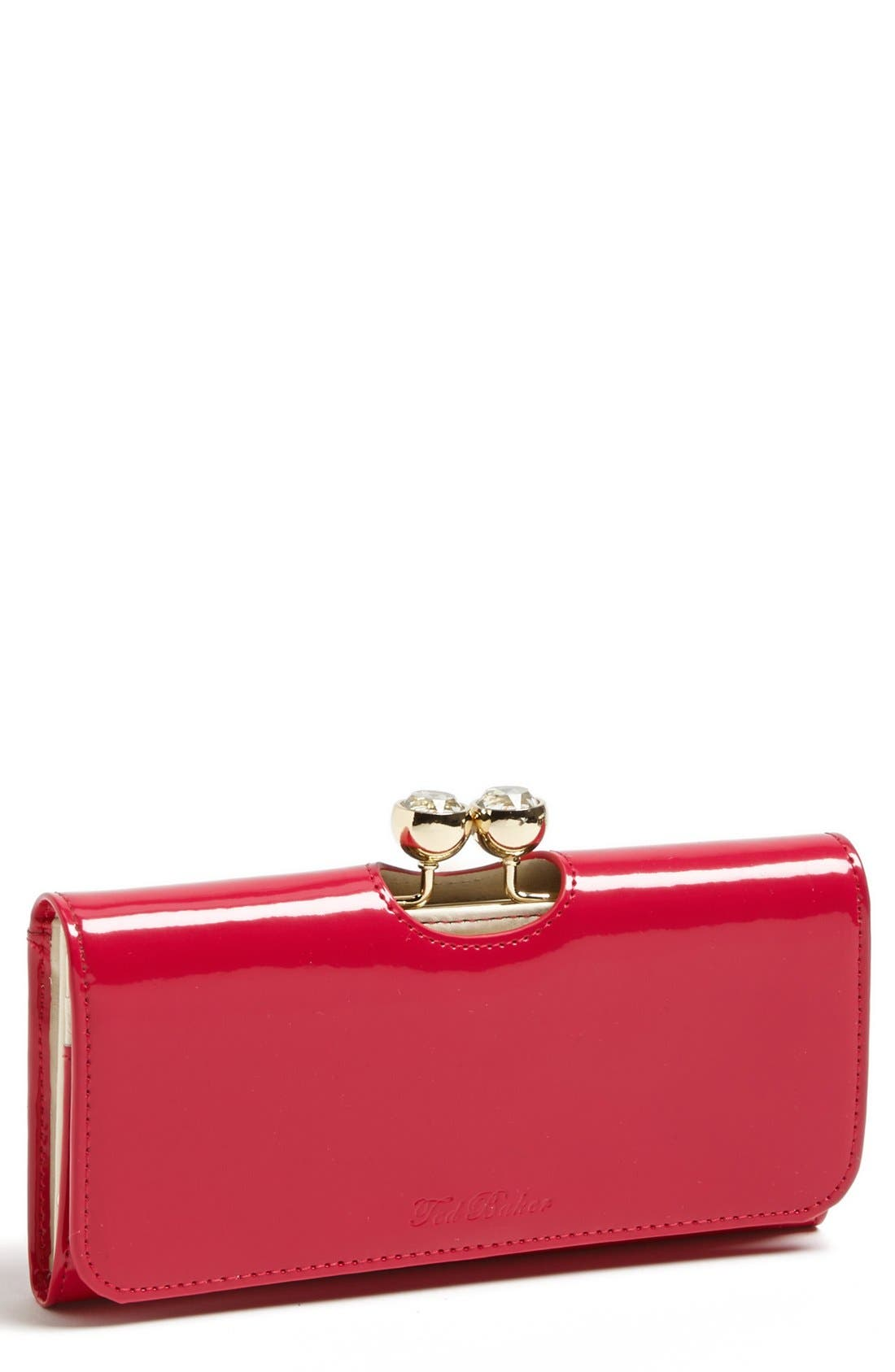 Alternate Image 1 Selected - Ted Baker London 'Crystal Bobble' Matinee Wallet