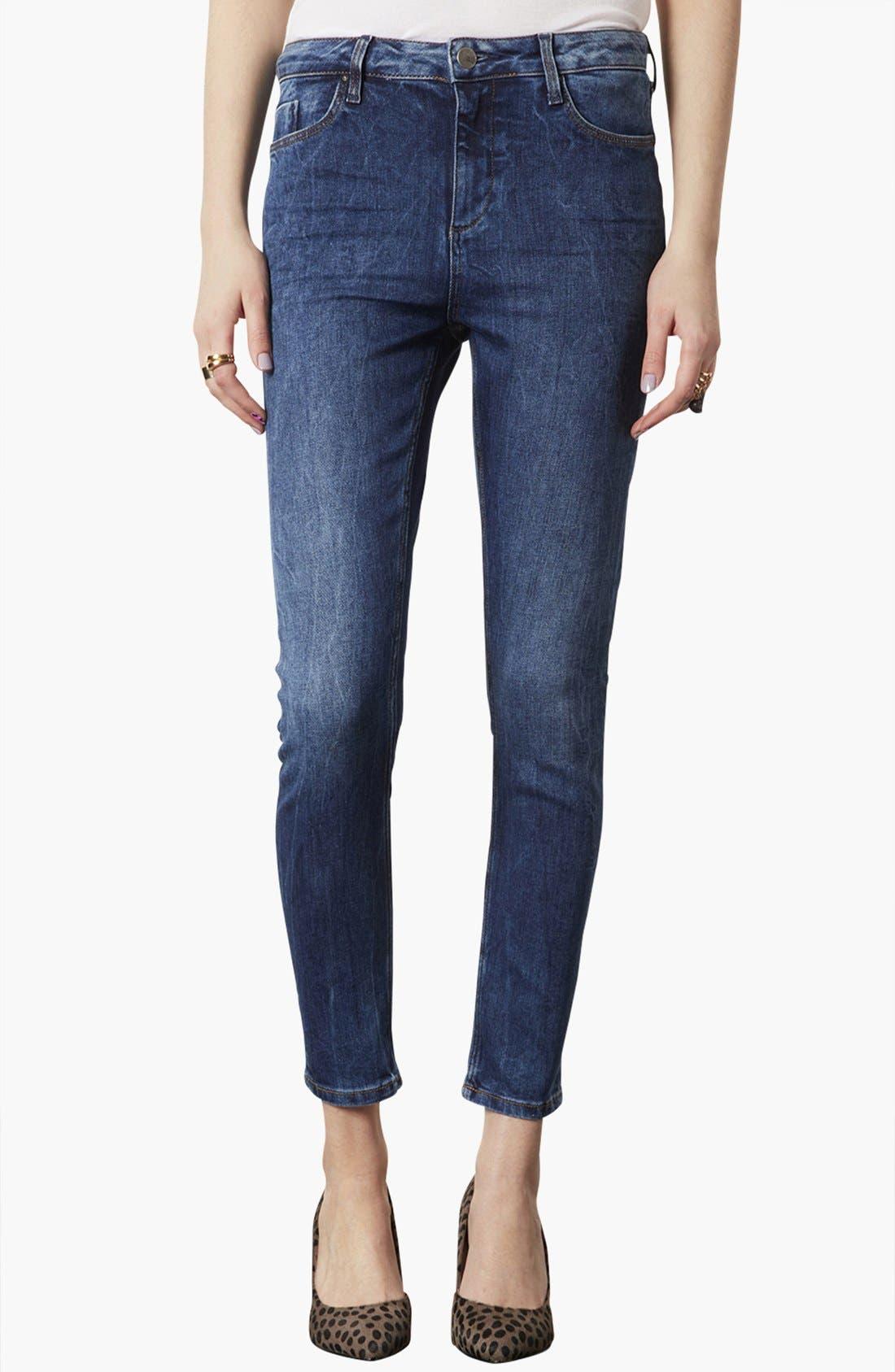 Alternate Image 1 Selected - Topshop 'Jamie' Skinny Jeans (Regular, Short & Long)