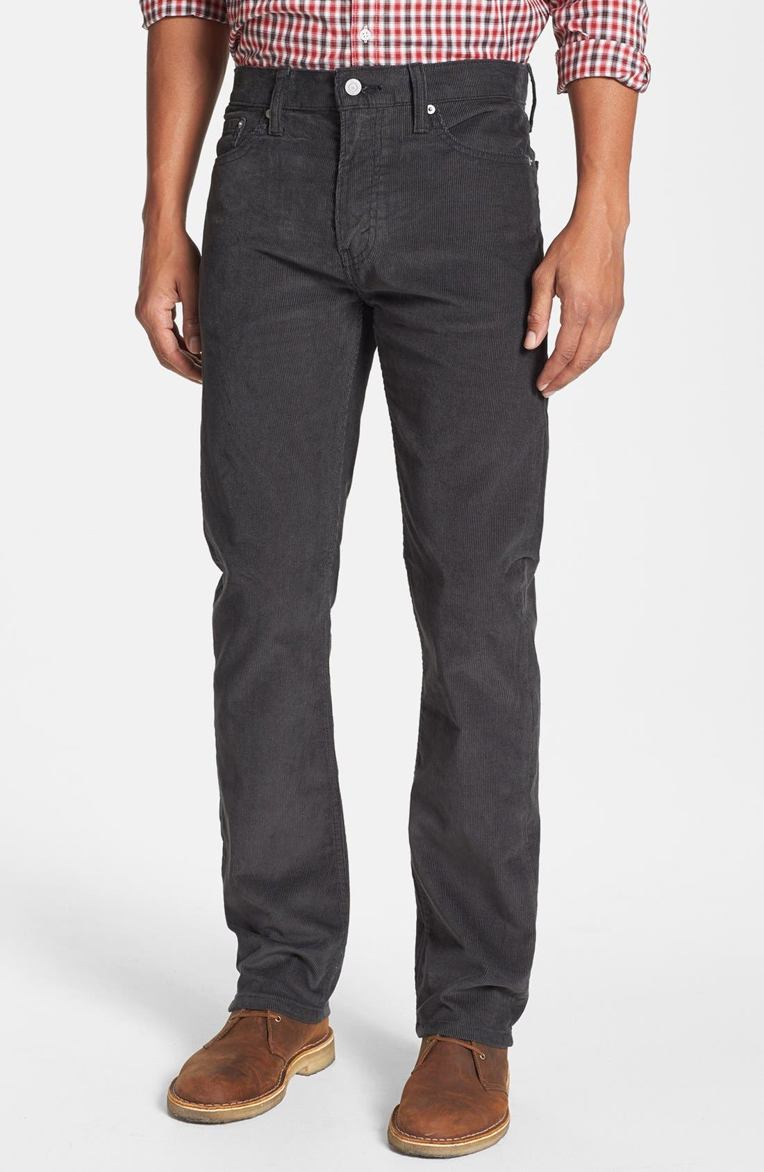 Alternate Image 1 Selected - Levi's® '513™' Slim Straight Leg Corduroy Pants