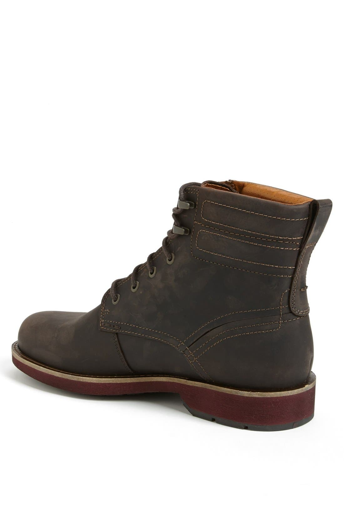 Alternate Image 2  - ECCO 'Bendix' Plain Toe Boot (Men)
