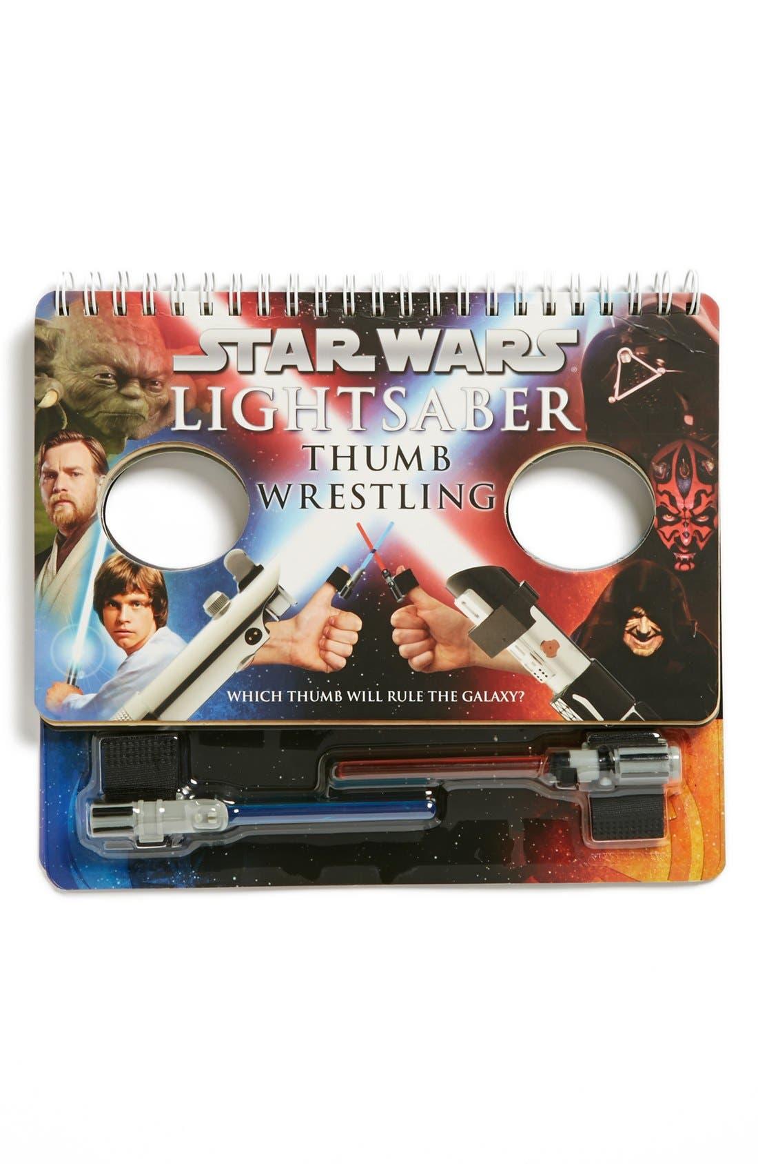 Alternate Image 1 Selected - 'Star Wars™ Lightsaber Thumb Wrestling' Book