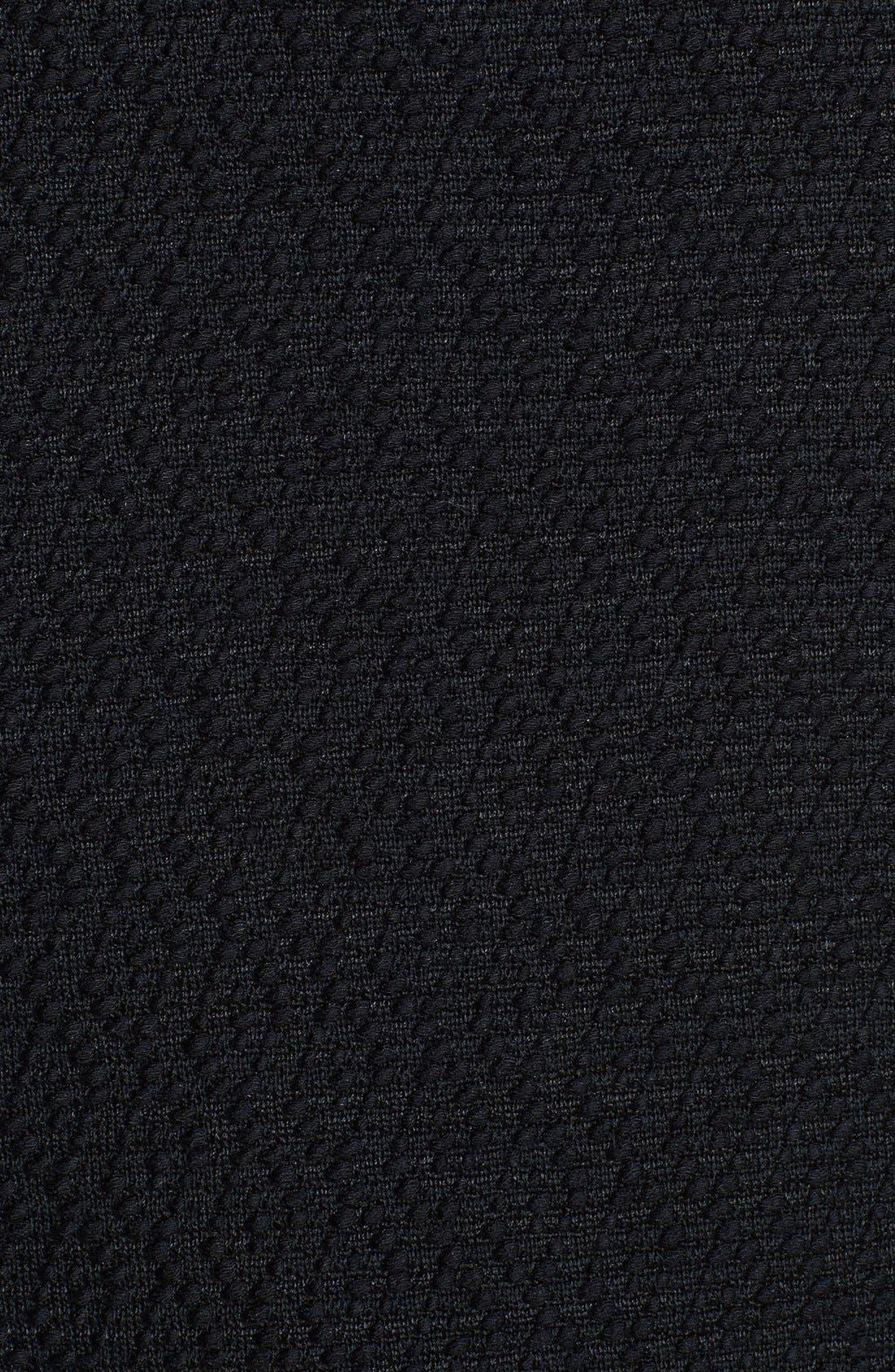 Alternate Image 3  - St. John Collection Tuck Lapel Collar Diamond Dash Knit Jacket