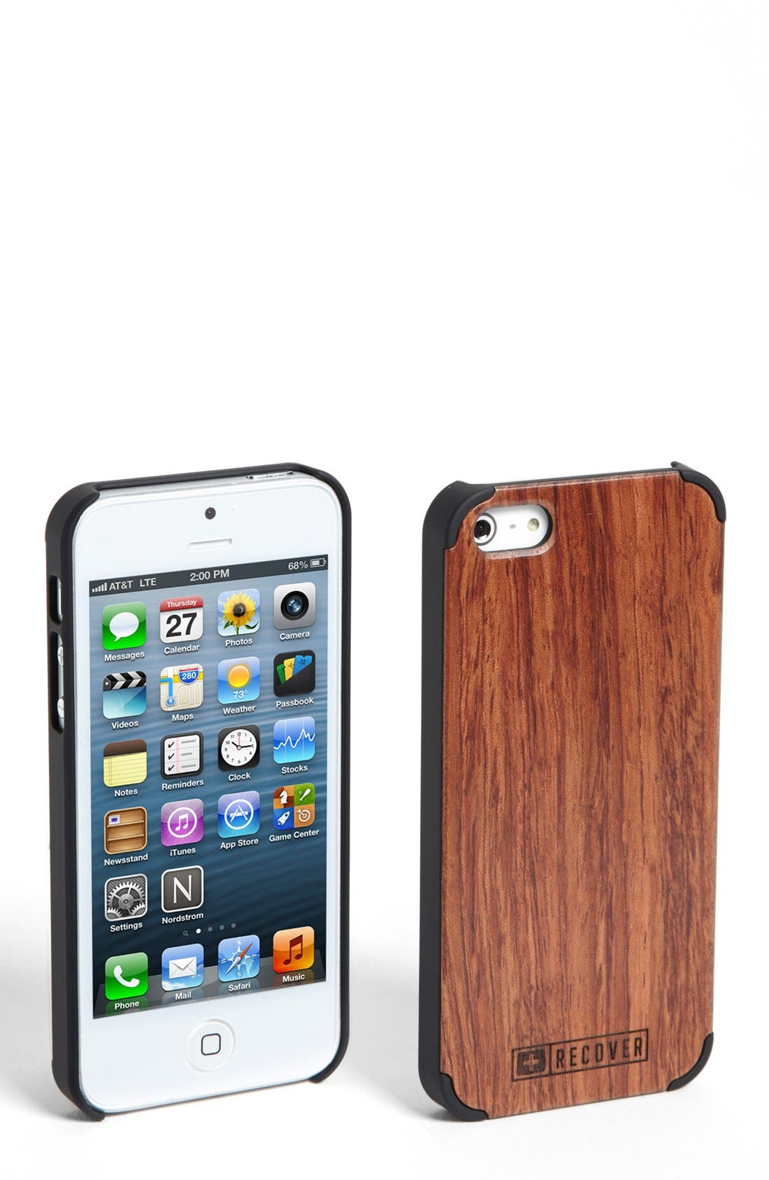 Alternate Image 1 Selected - Recover Rosewood iPhone 5 & 5s Case