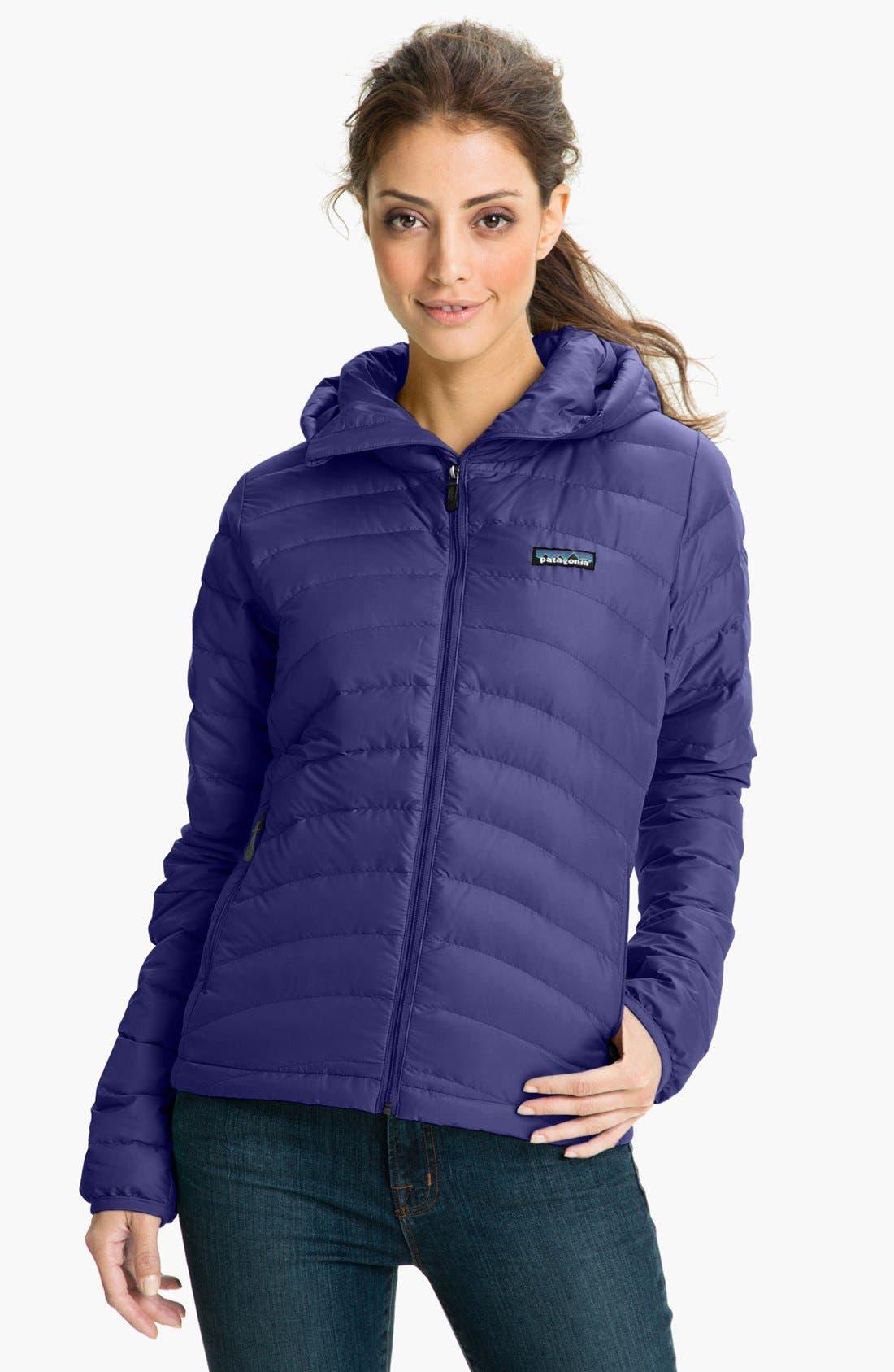 Alternate Image 1 Selected - Patagonia 'Down Sweater' Hooded Jacket