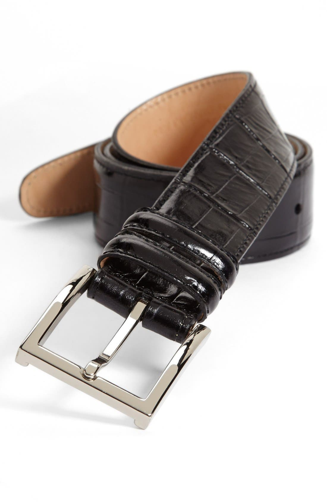 Alternate Image 1 Selected - Martin Dingman 'Alexander' Leather Belt