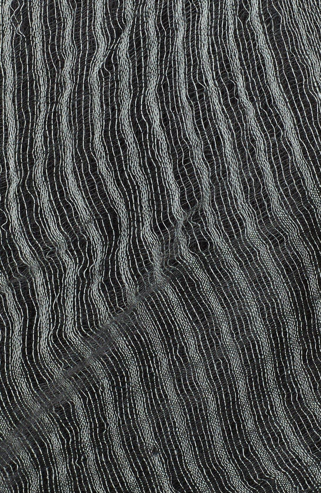 Alternate Image 3  - Eileen Fisher Square Fringe Scarf