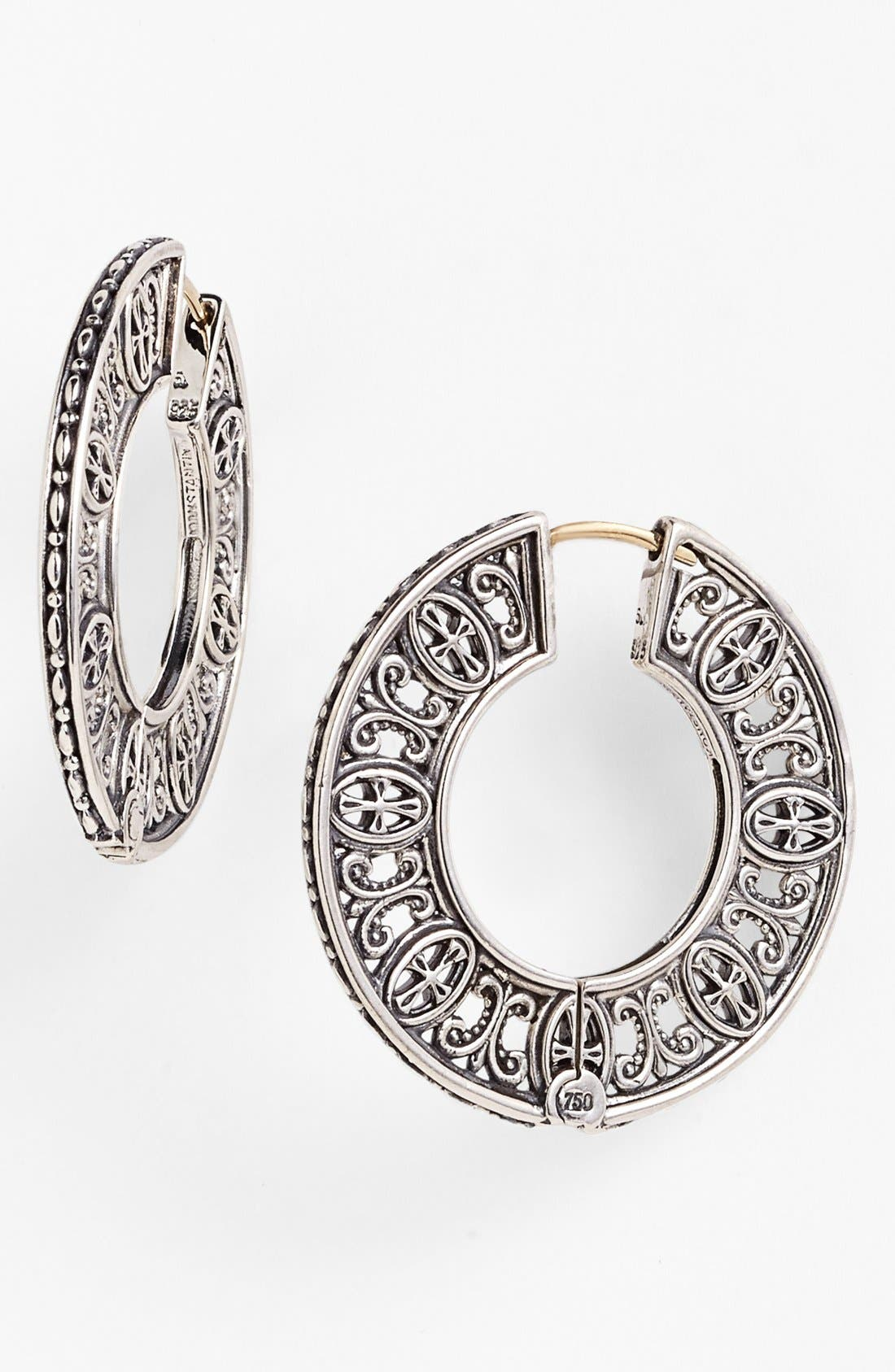 Alternate Image 1 Selected - Konstantino 'Classics' Hoop Earrings