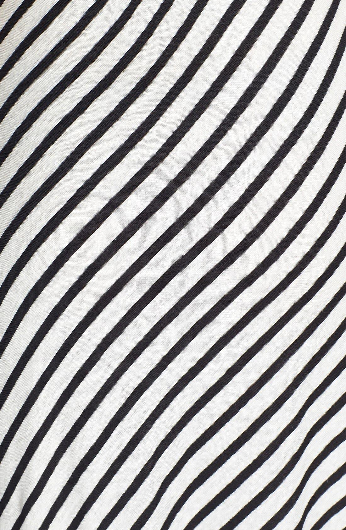 Alternate Image 3  - Dolce Vita Linen & Cotton Stripe Maxi Dress