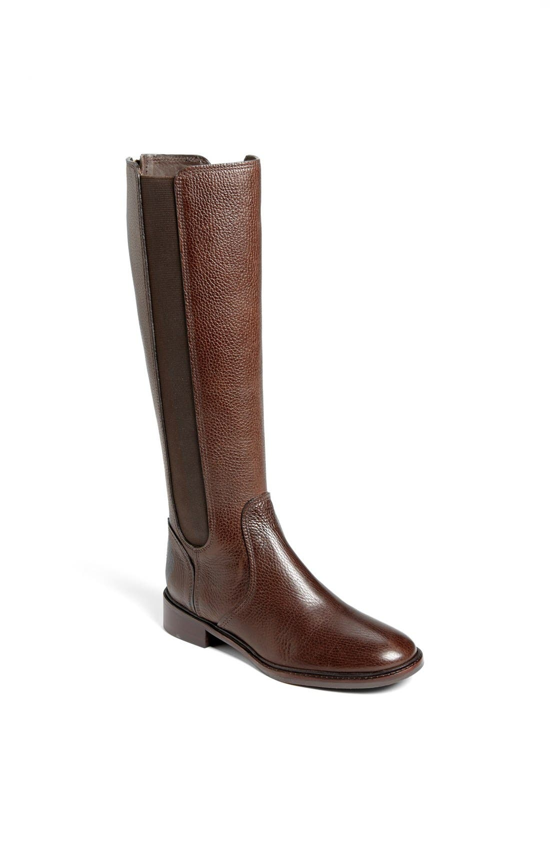 Main Image - Tory Burch 'Christy' Leather Riding Boot