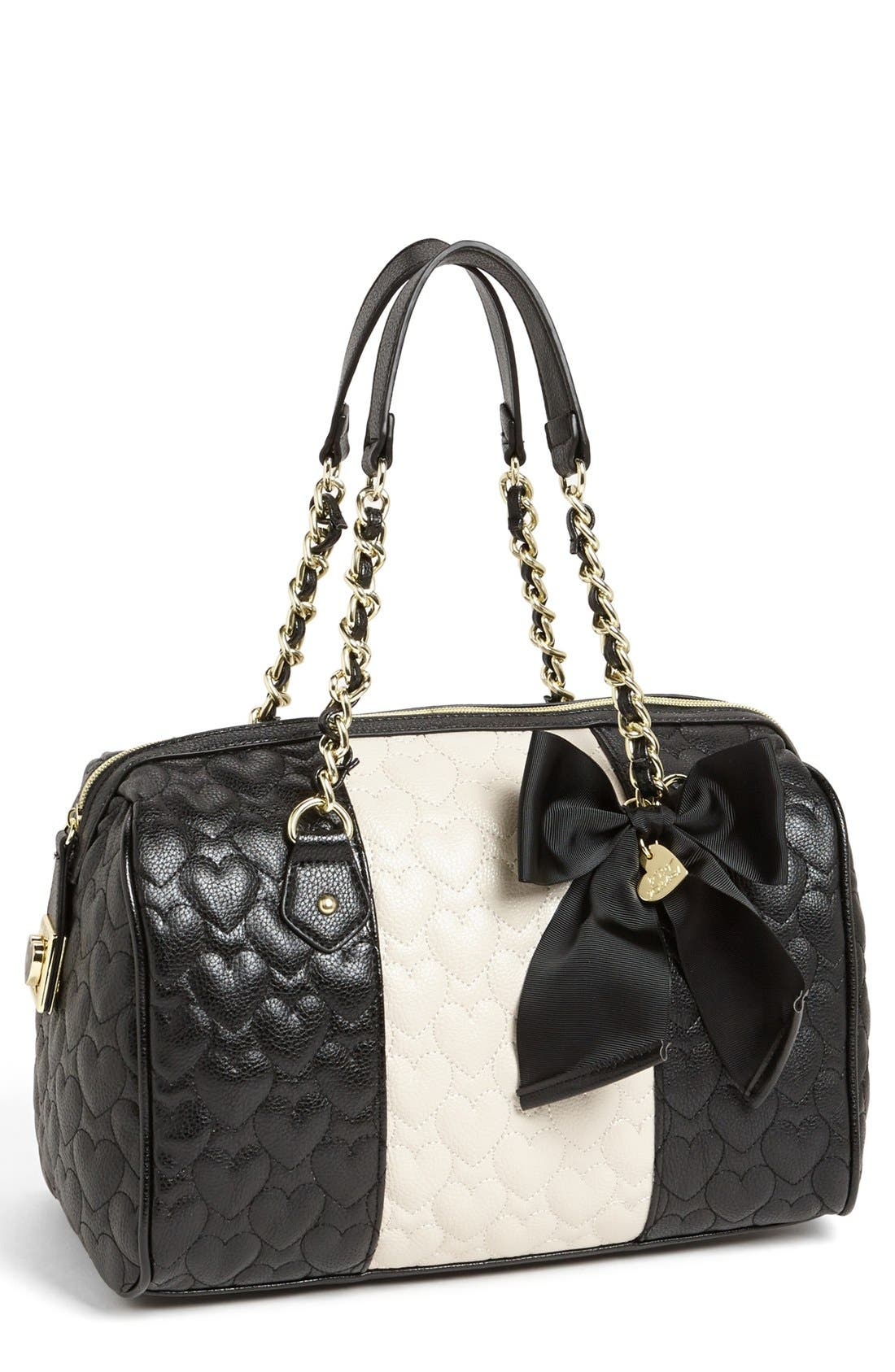 Main Image - Betsey Johnson 'Be My Wonderful' Satchel