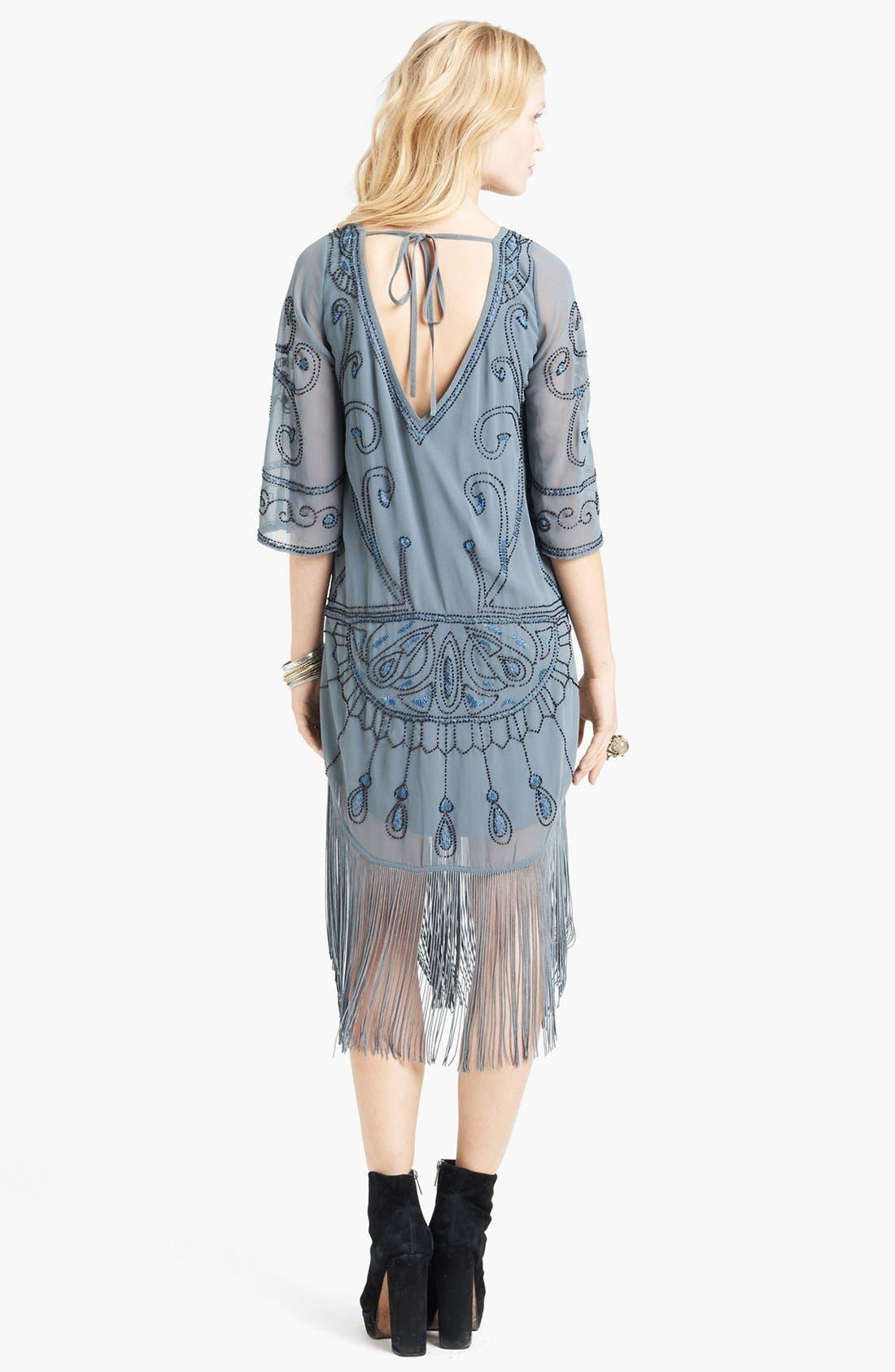 Alternate Image 2  - Free People 'Livin' the Fringe Life' Embellished Dress