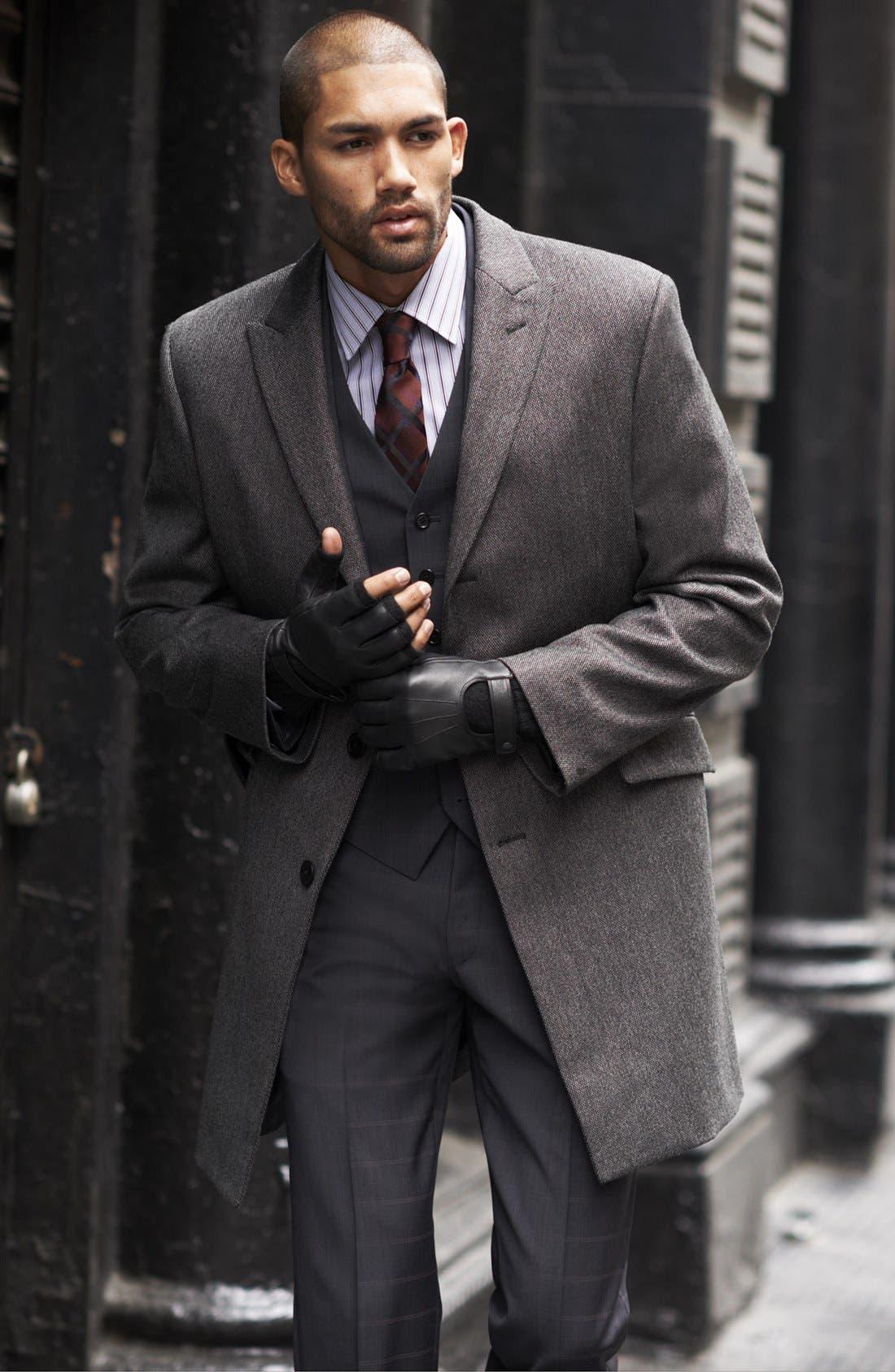 Alternate Image 7  - John Varvatos Star USA Trim Fit Three-Piece Wool Suit