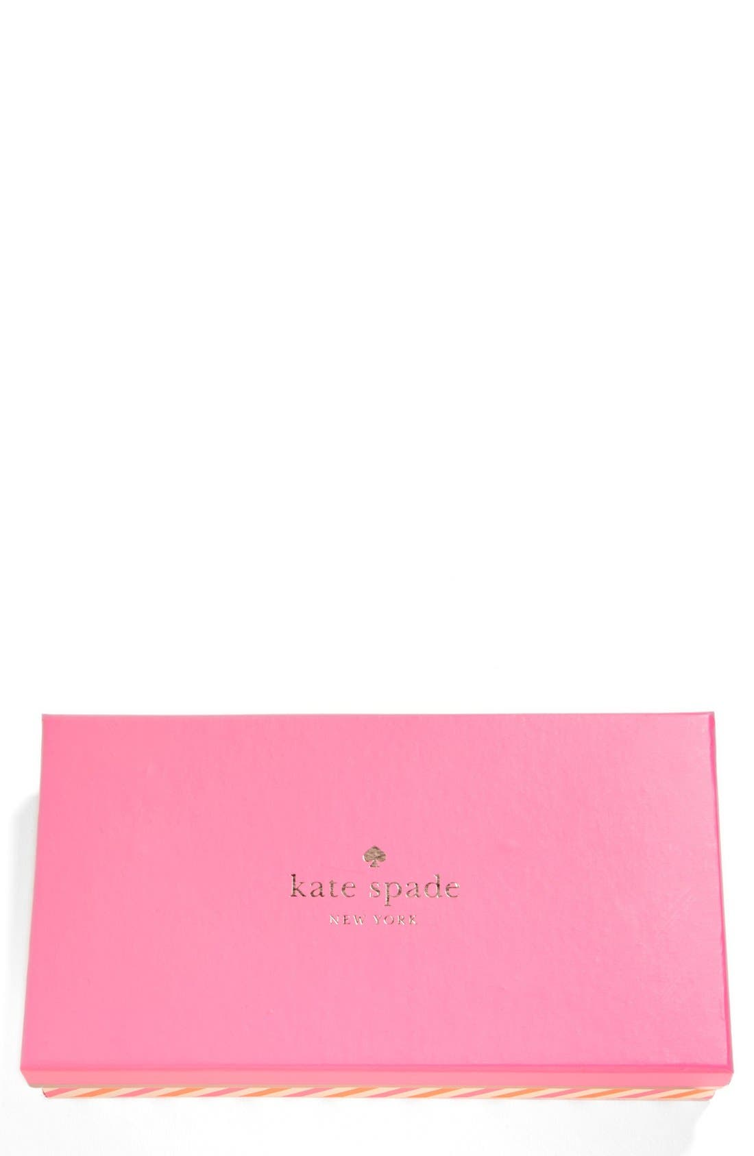 Alternate Image 2  - kate spade new york 'cherry lane - louie' saffiano leather phone wallet